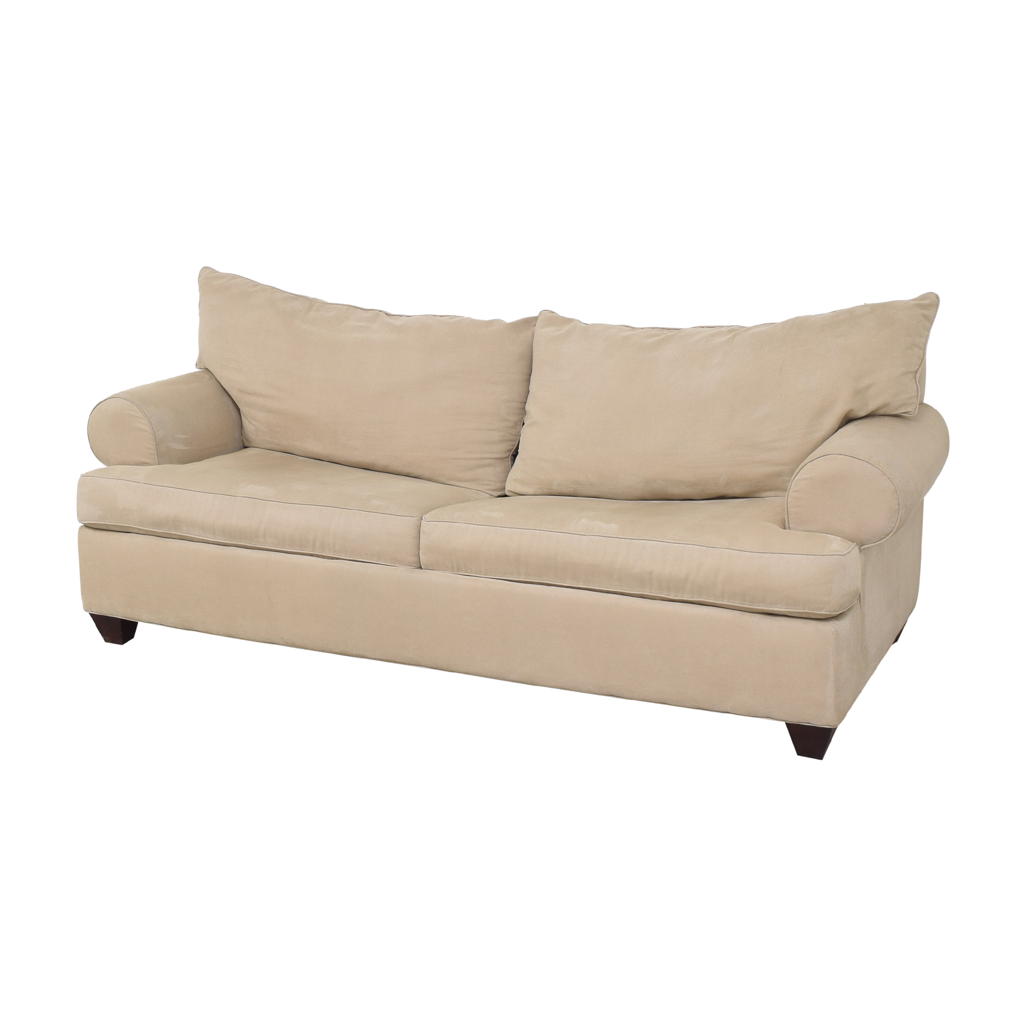 Raymour & Flanigan Raymour & Flanigan Two Cushion Sleeper Sofa nyc