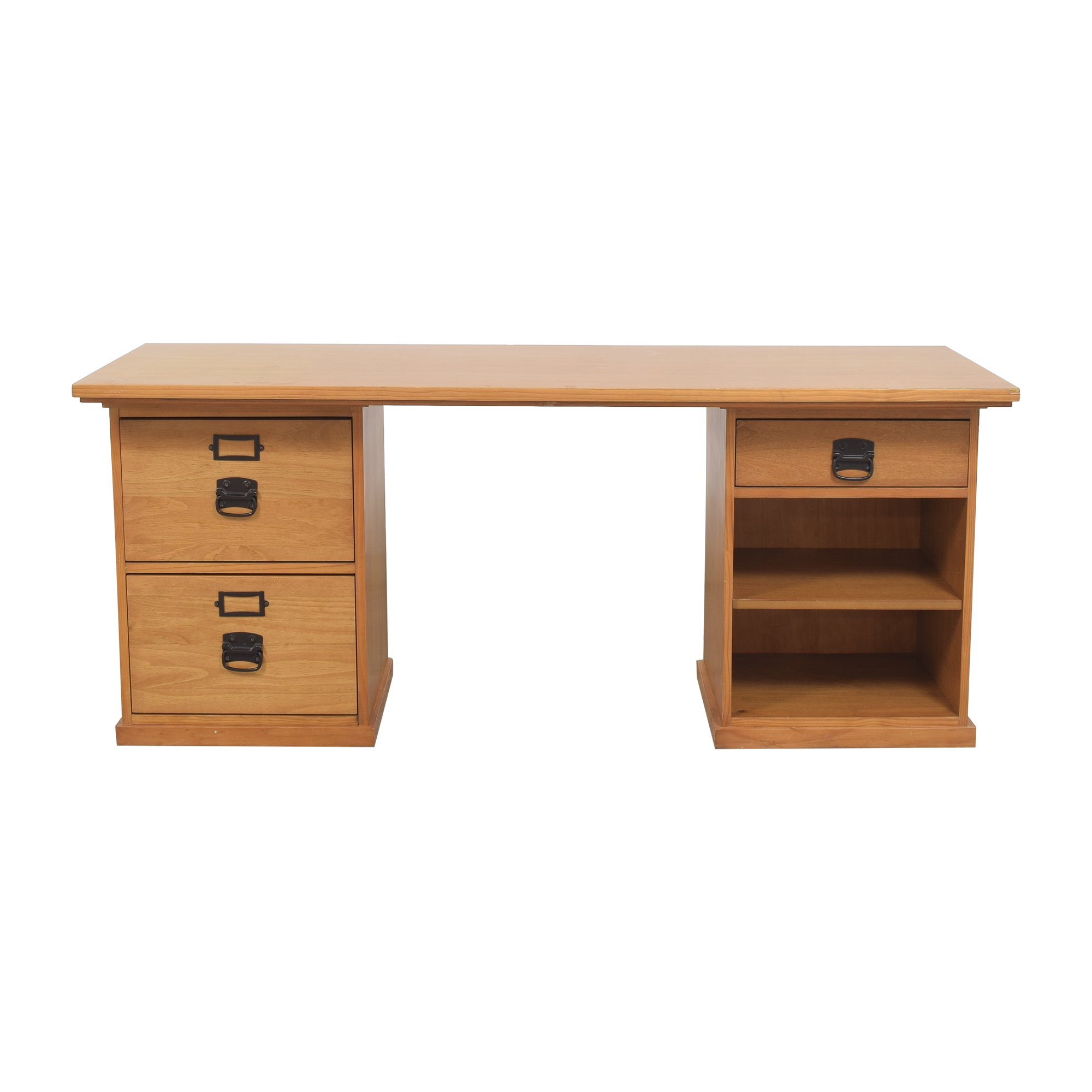 buy Double Pedestal Executive Desk  Home Office Desks