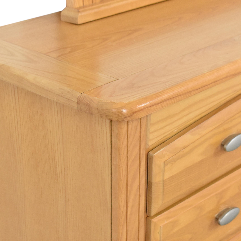 Vaughan Furniture Dresser with Mirror Vaughan Furniture