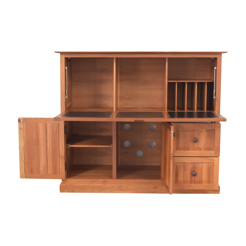 Crate & Barrel Crate & Barrel Cabinet Secretary Desk by Copeland nj