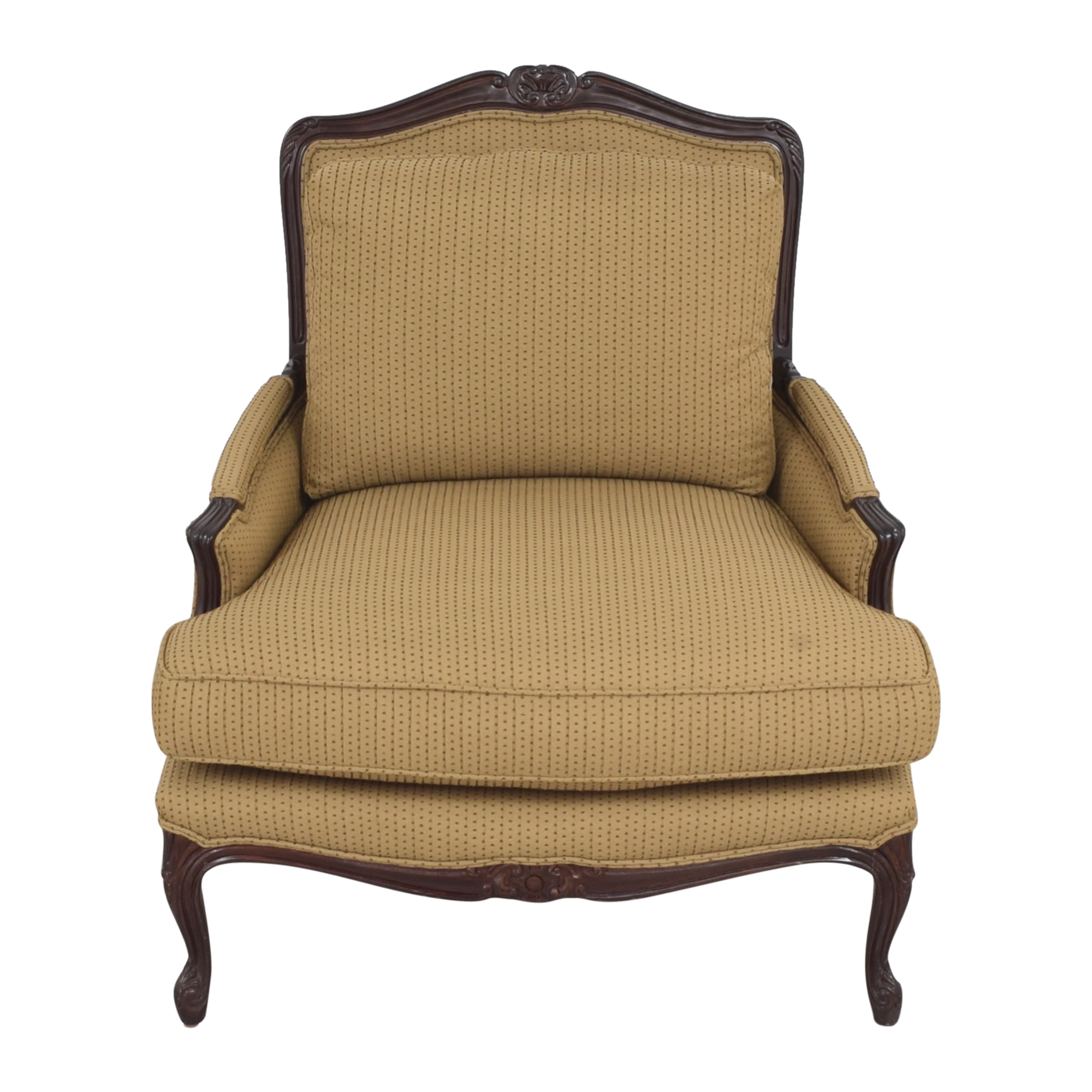 buy Calico Bergere Accent Chair Calico Accent Chairs