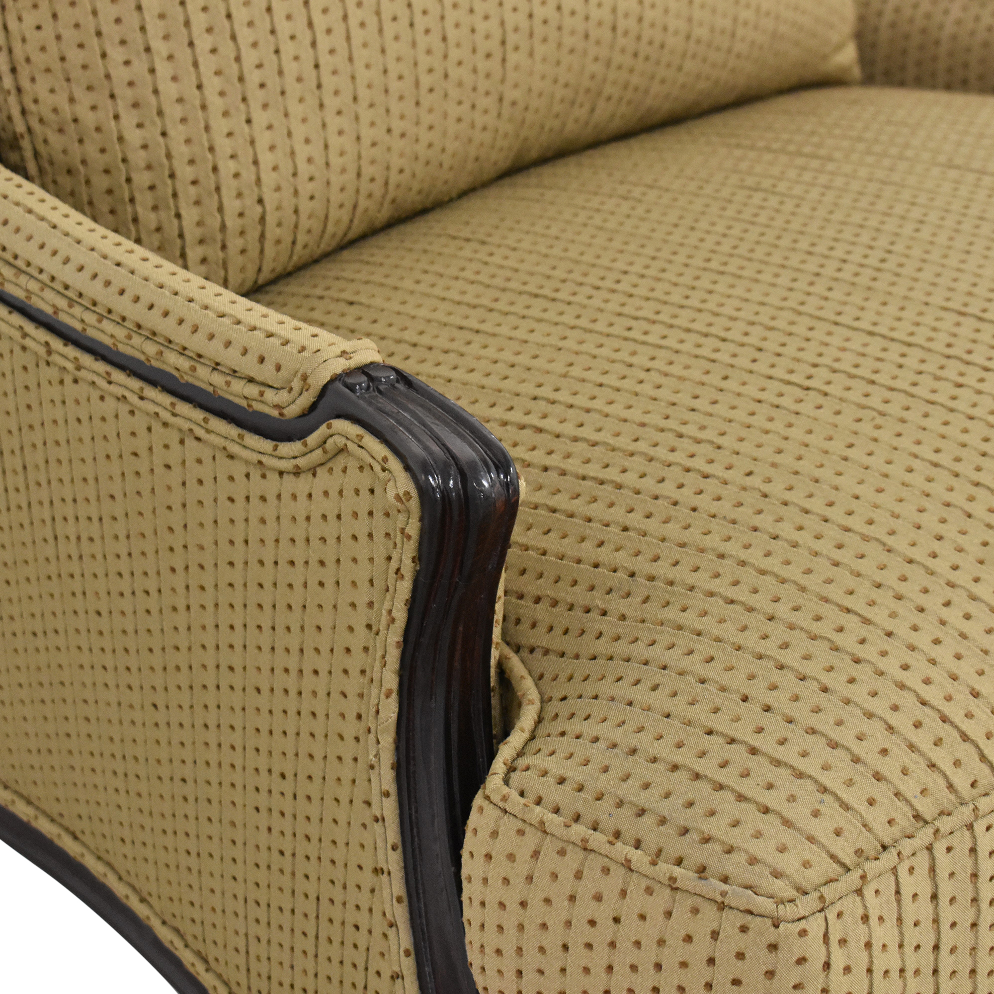 Calico Calico Bergere Accent Chair brown