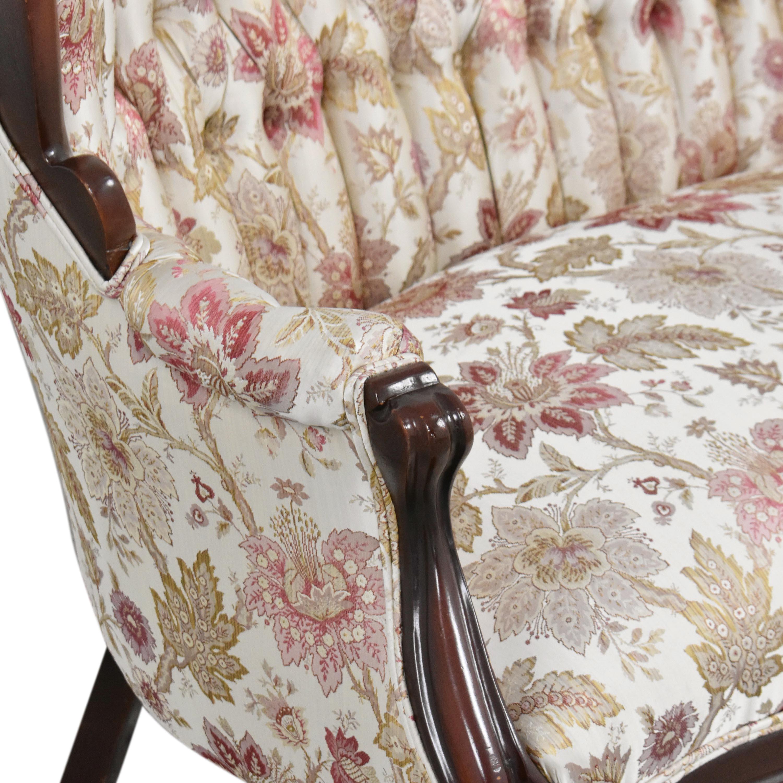 shop Vintage Victorian-Style Settee  Loveseats