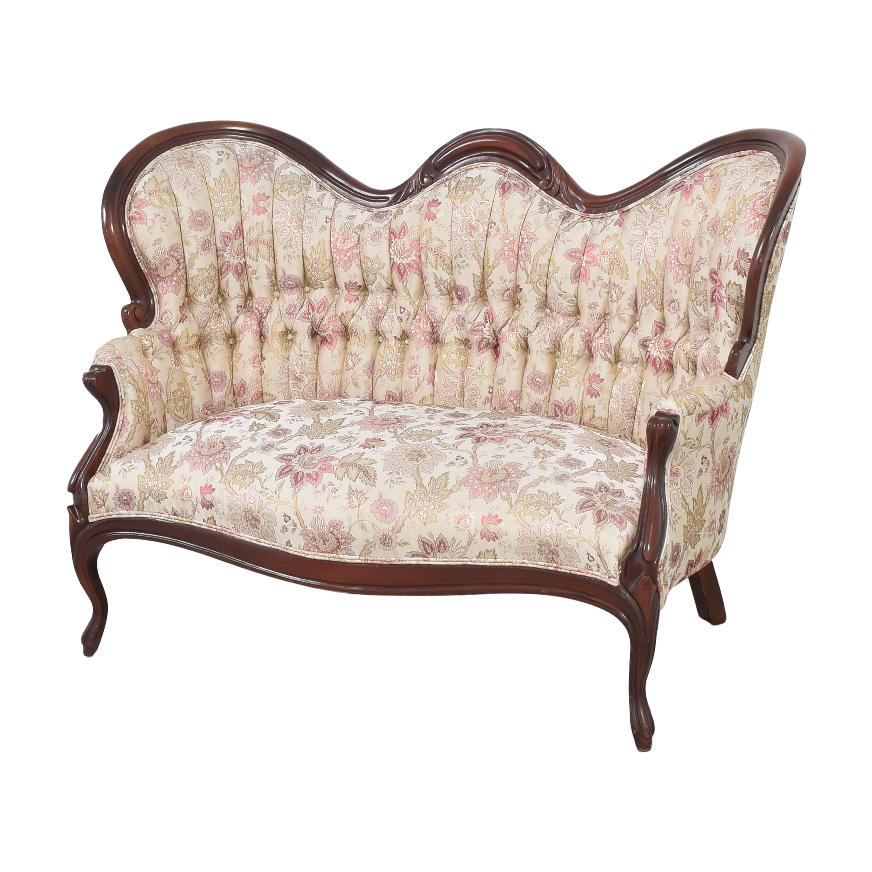 Vintage Victorian-Style Settee for sale