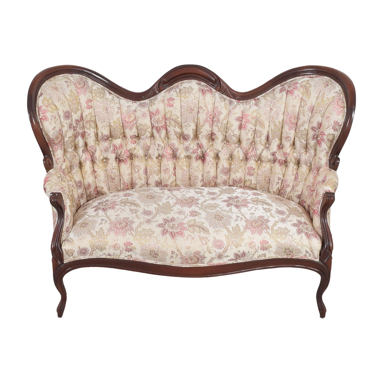 buy Vintage Victorian-Style Settee  Sofas