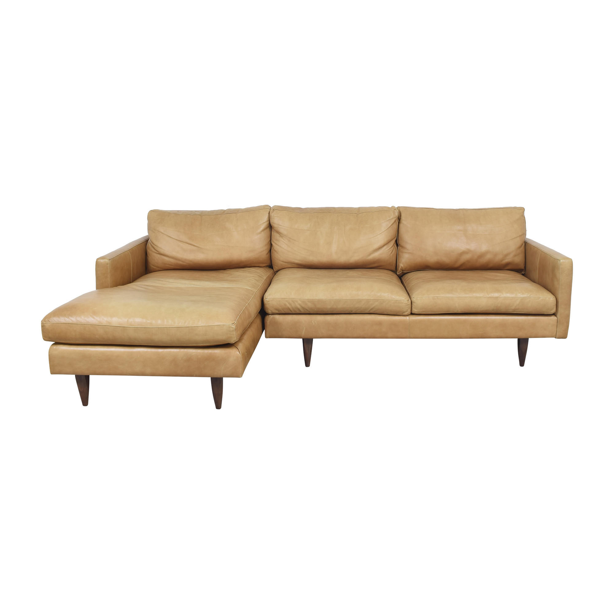 Room & Board Room & Board Jasper Sectional Sofa with Chaise ct