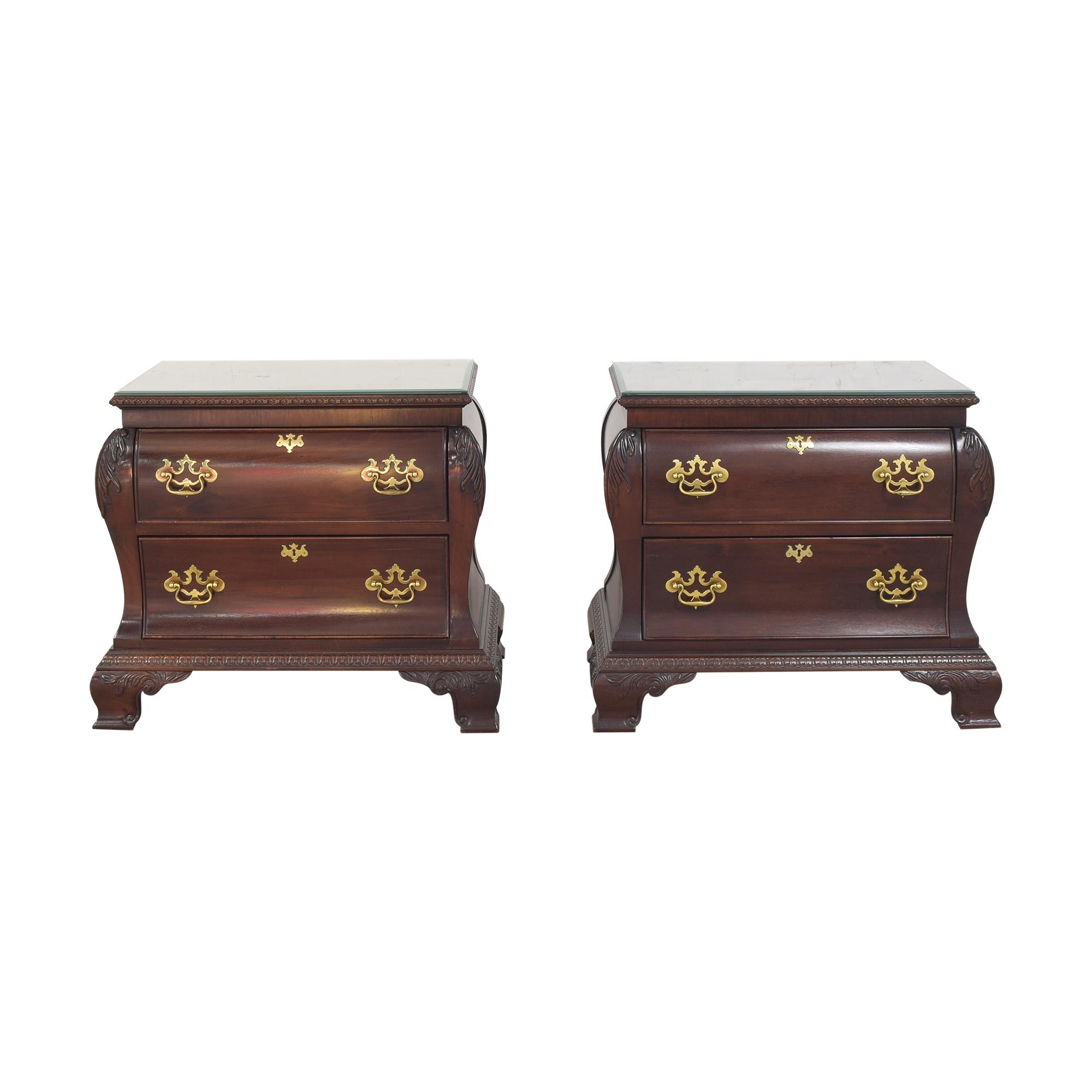 Century Furniture  Century Furniture Two Drawer Nightstands discount