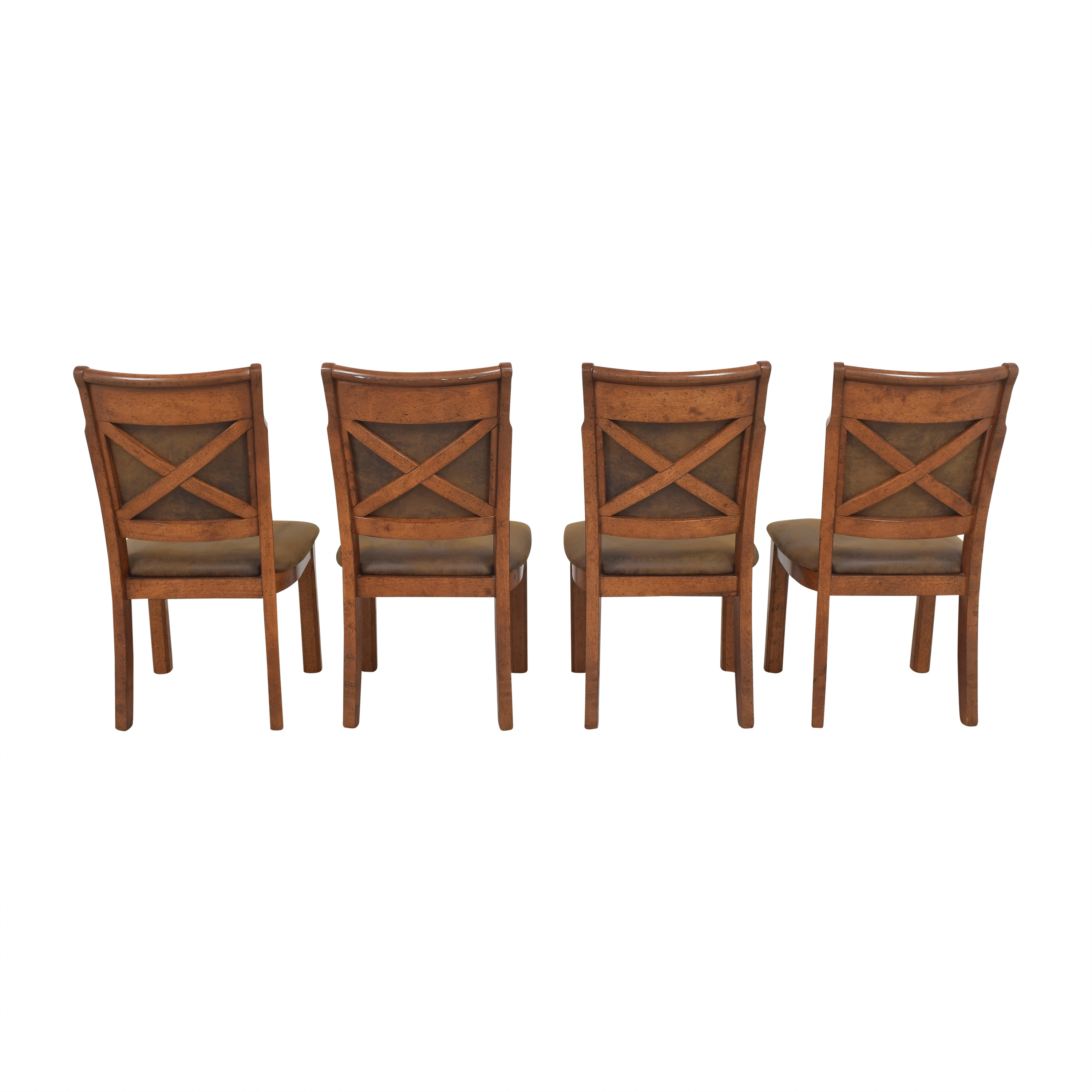 shop Raymour & Flanigan Soleste Dining Chairs Raymour & Flanigan
