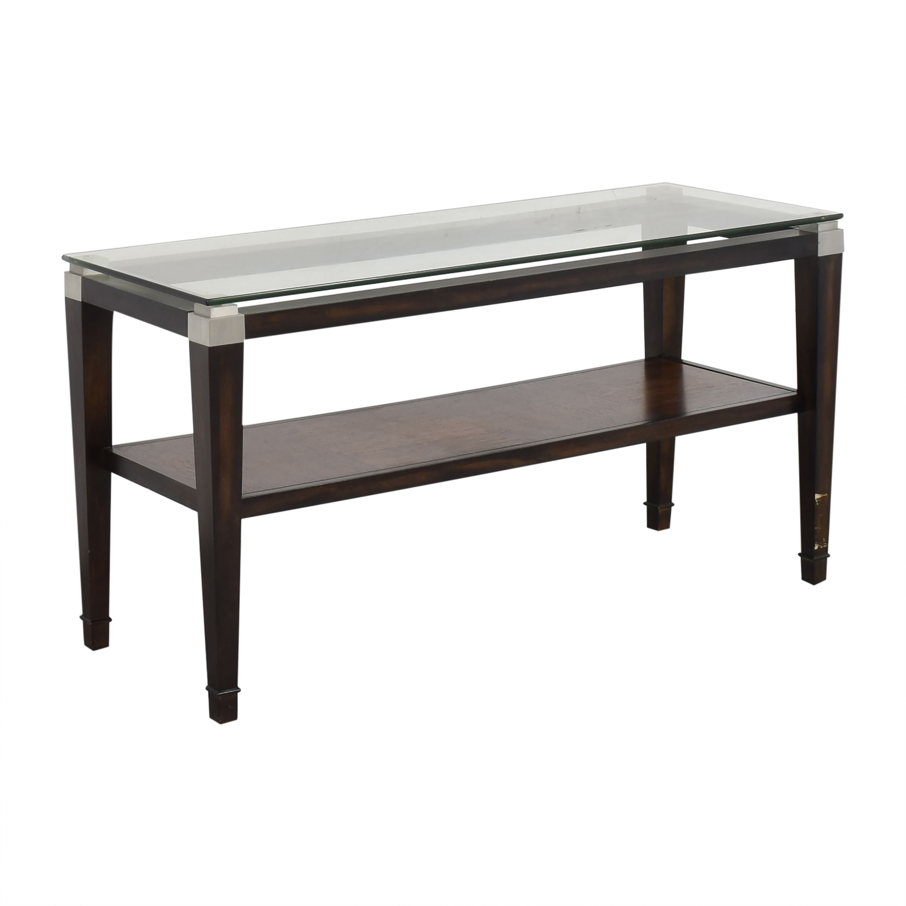 Raymour & Flanigan Raymour & Flanigan Dunhill Console Table used