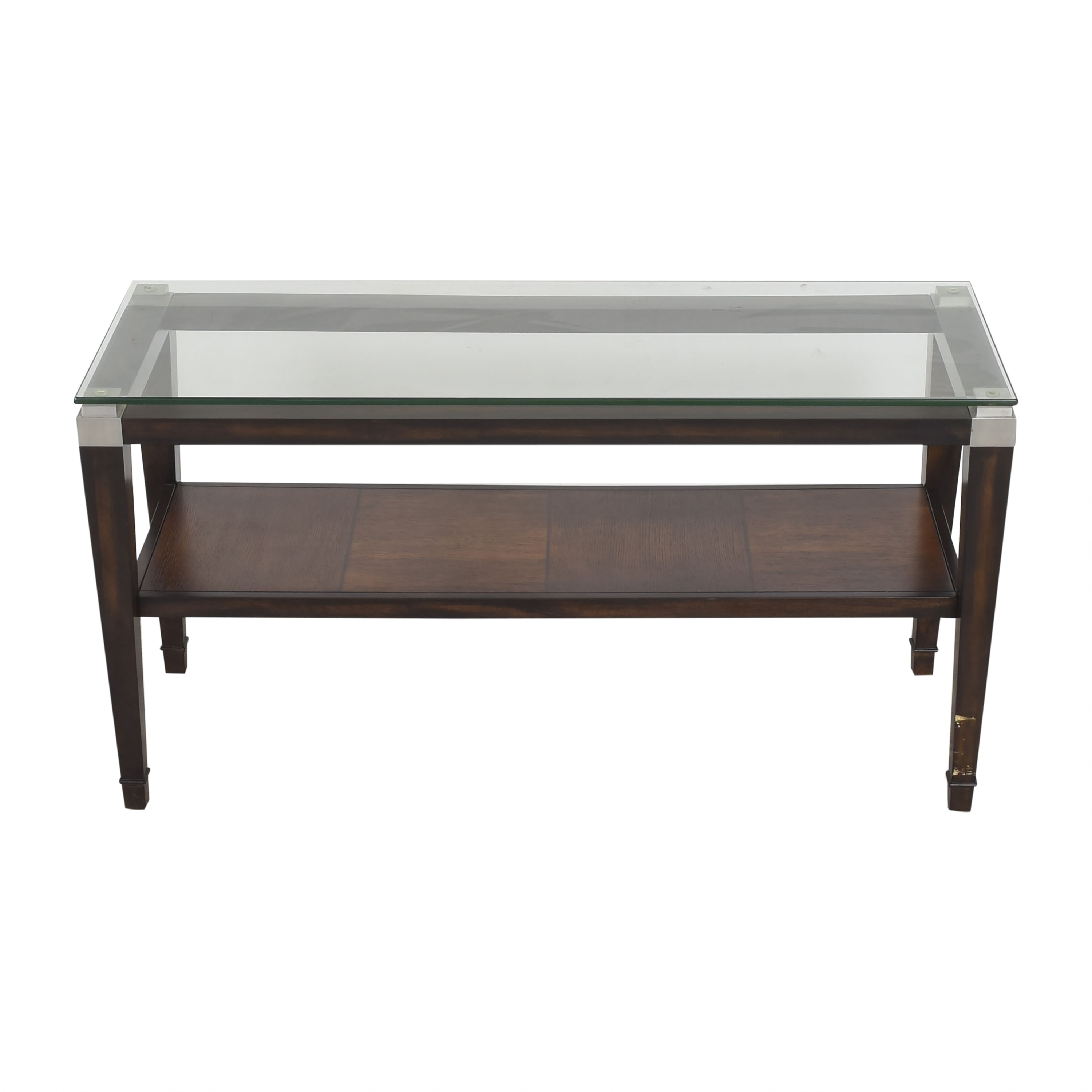 Raymour & Flanigan Dunhill Console Table sale