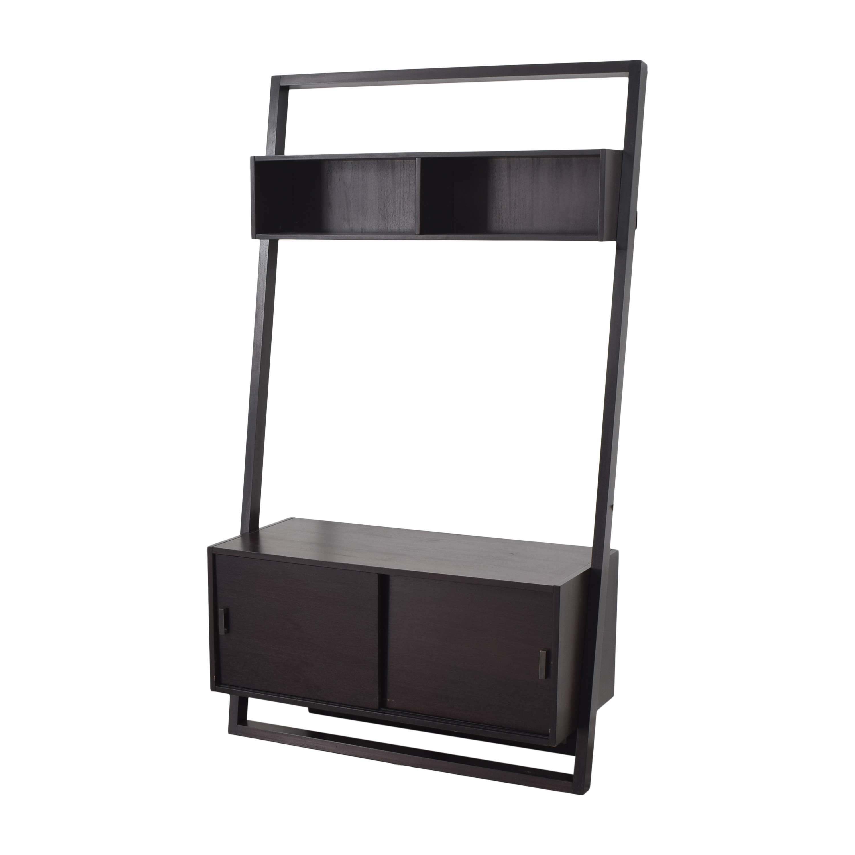 Crate & Barrel Crate & Barrel Sloane Leaning Media Stand Storage