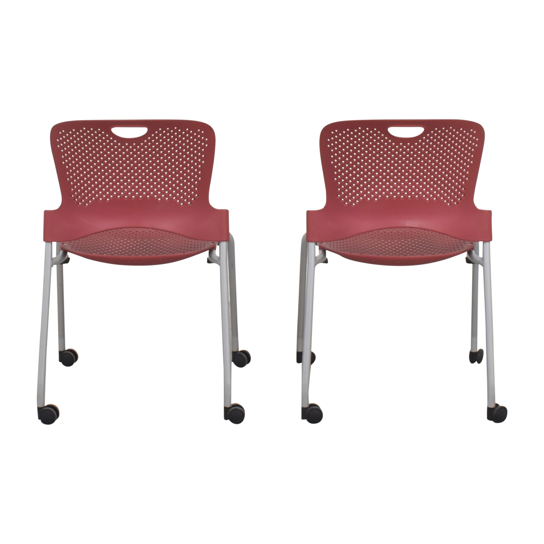 Herman Miller Herman Miller Caper Stacking Chairs dimensions