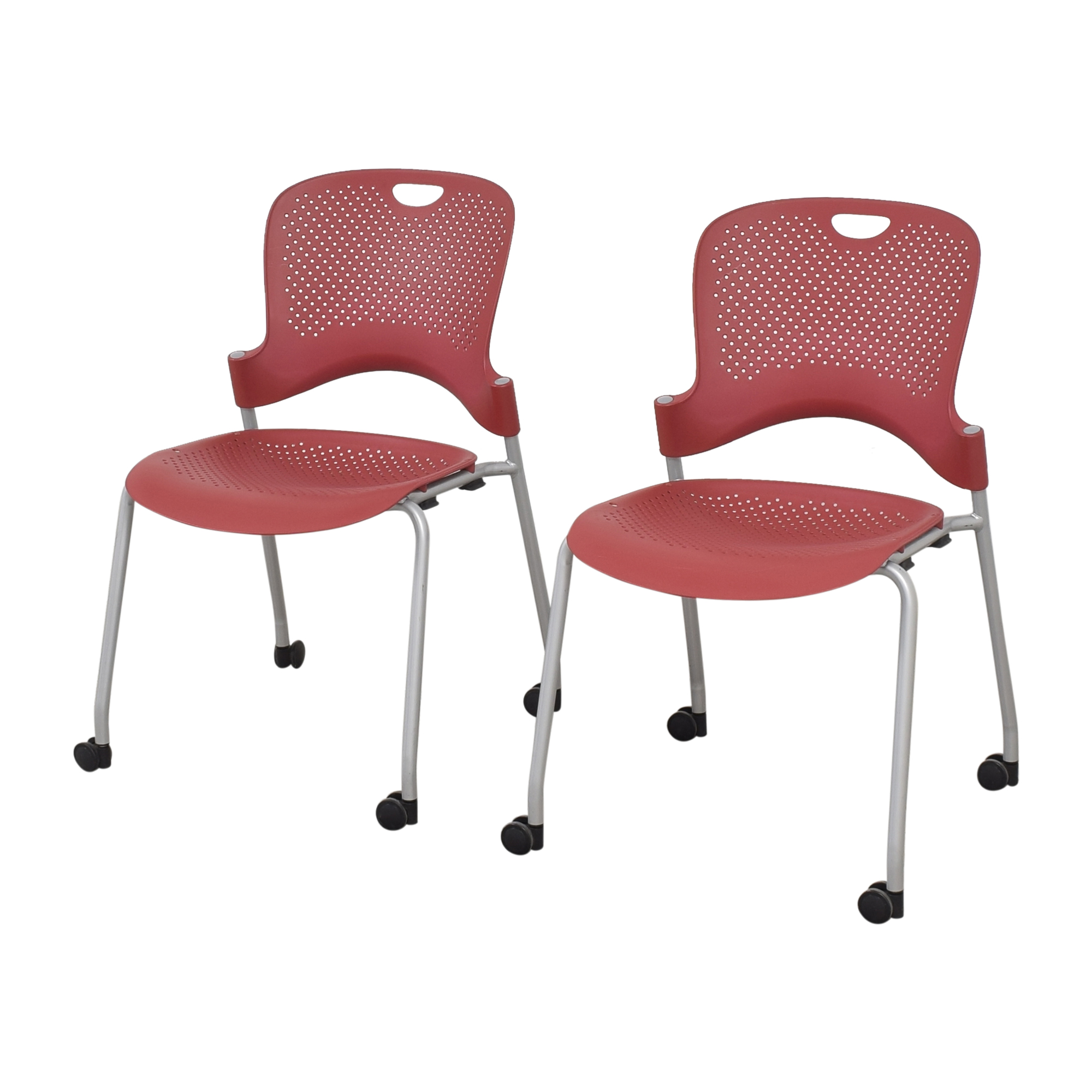 Herman Miller Caper Stacking Chairs Herman Miller