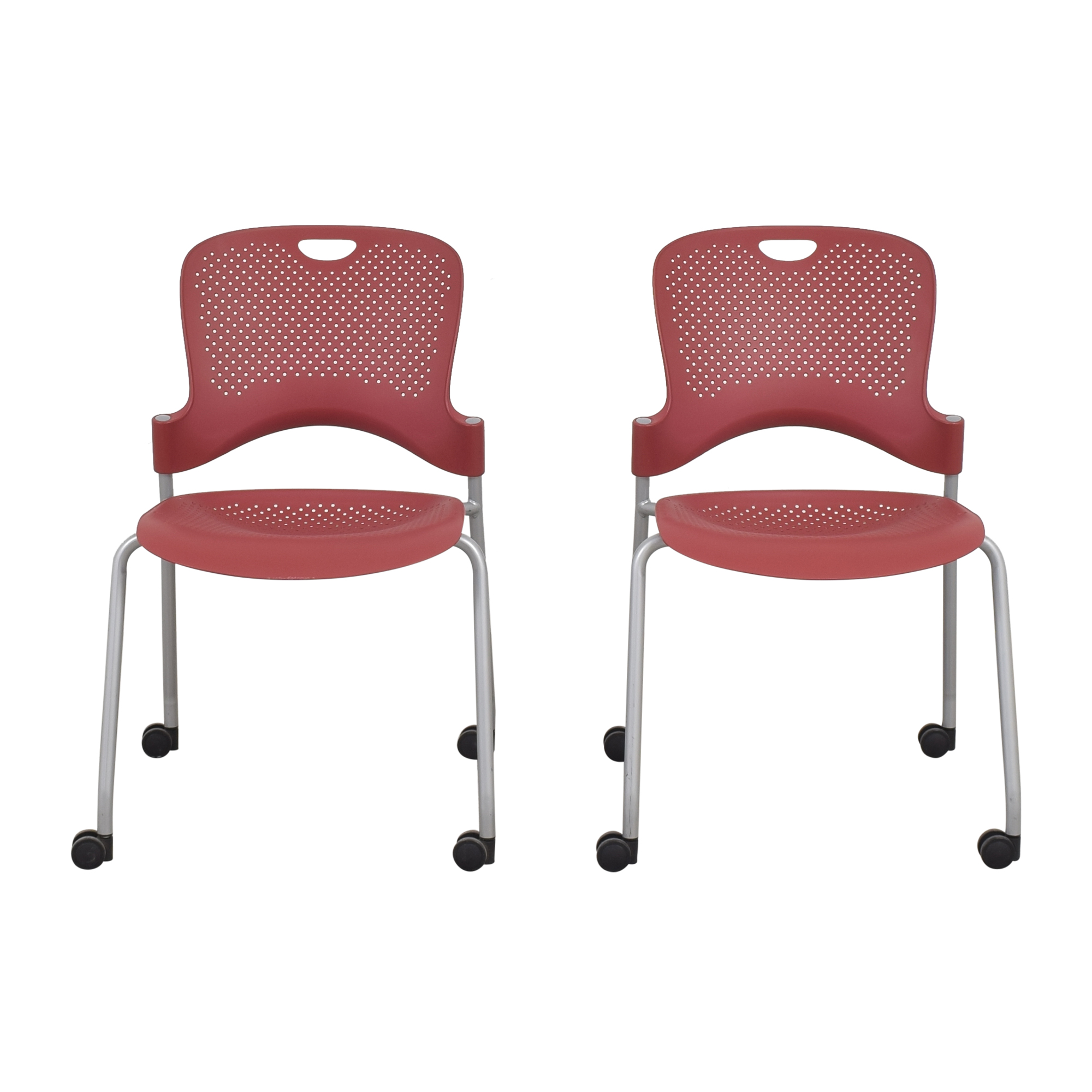 Herman Miller Herman Miller Caper Stacking Chairs dimensions