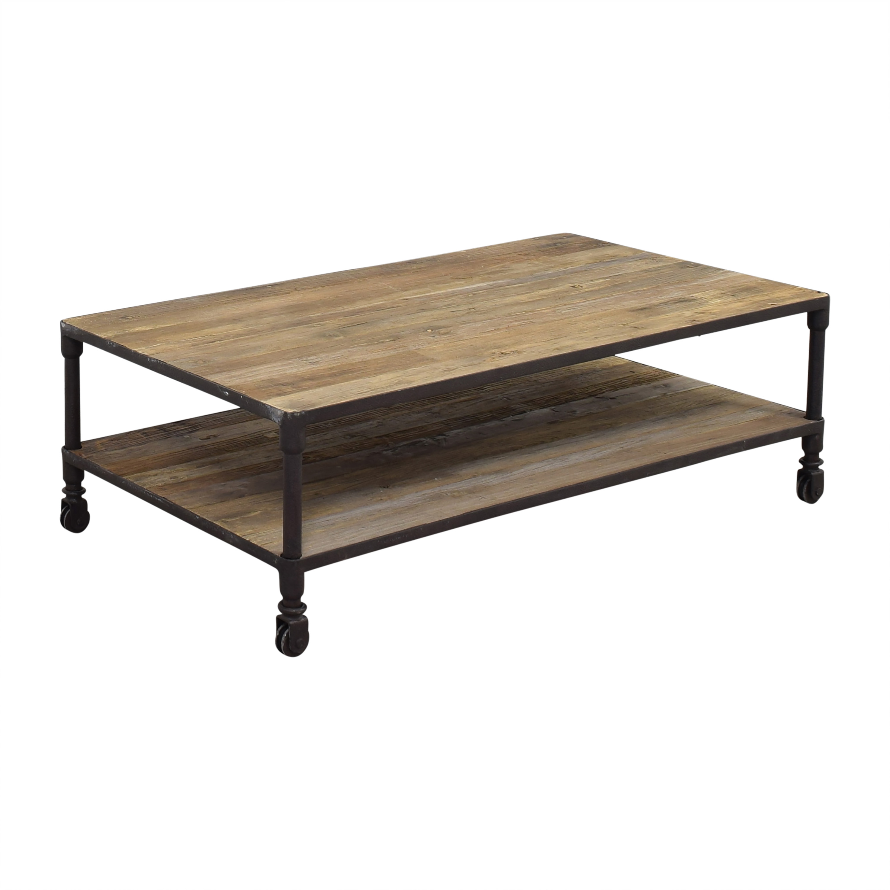 Restoration Hardware Restoration Hardware Dutch Industrial Coffee Table dimensions