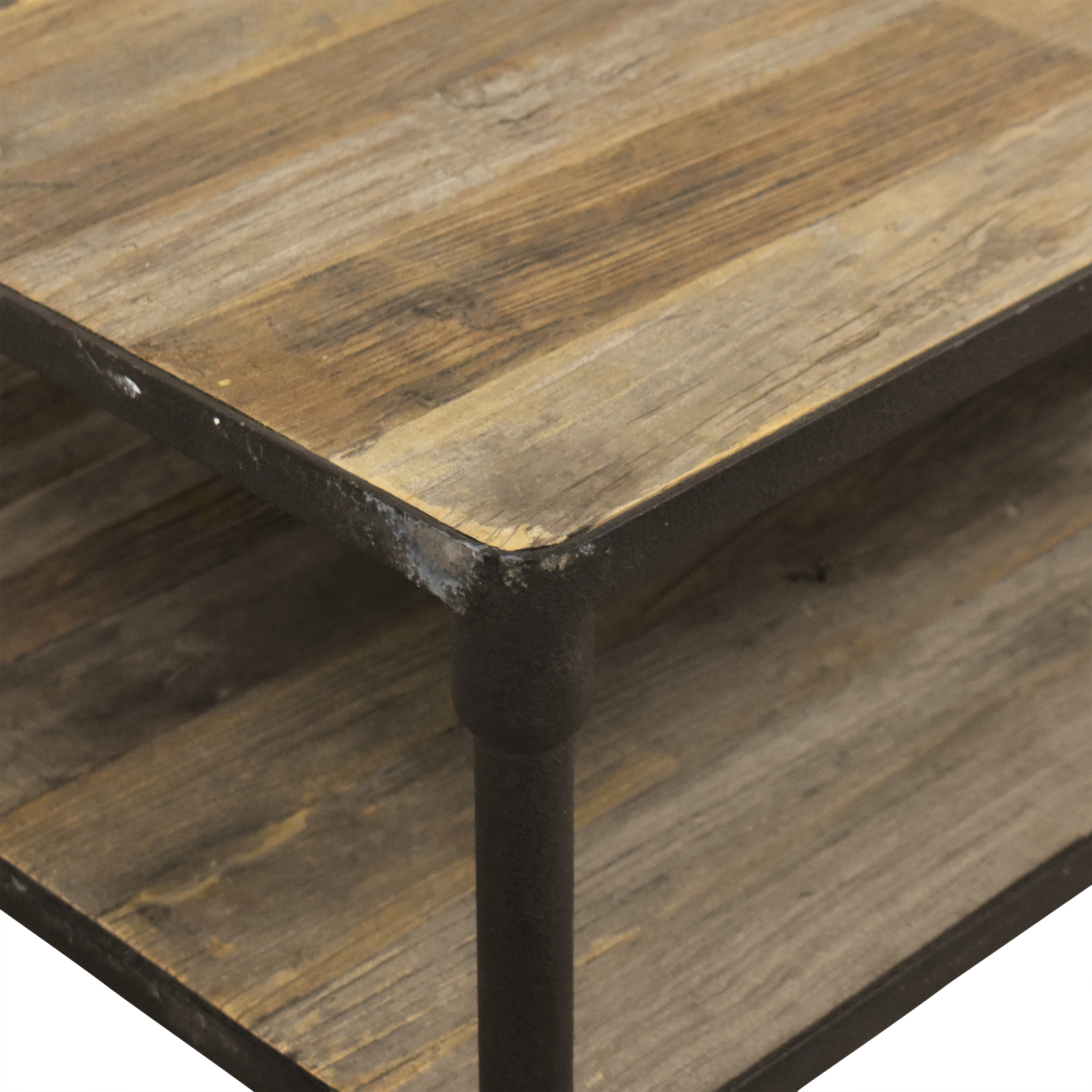Restoration Hardware Restoration Hardware Dutch Industrial Coffee Table ct