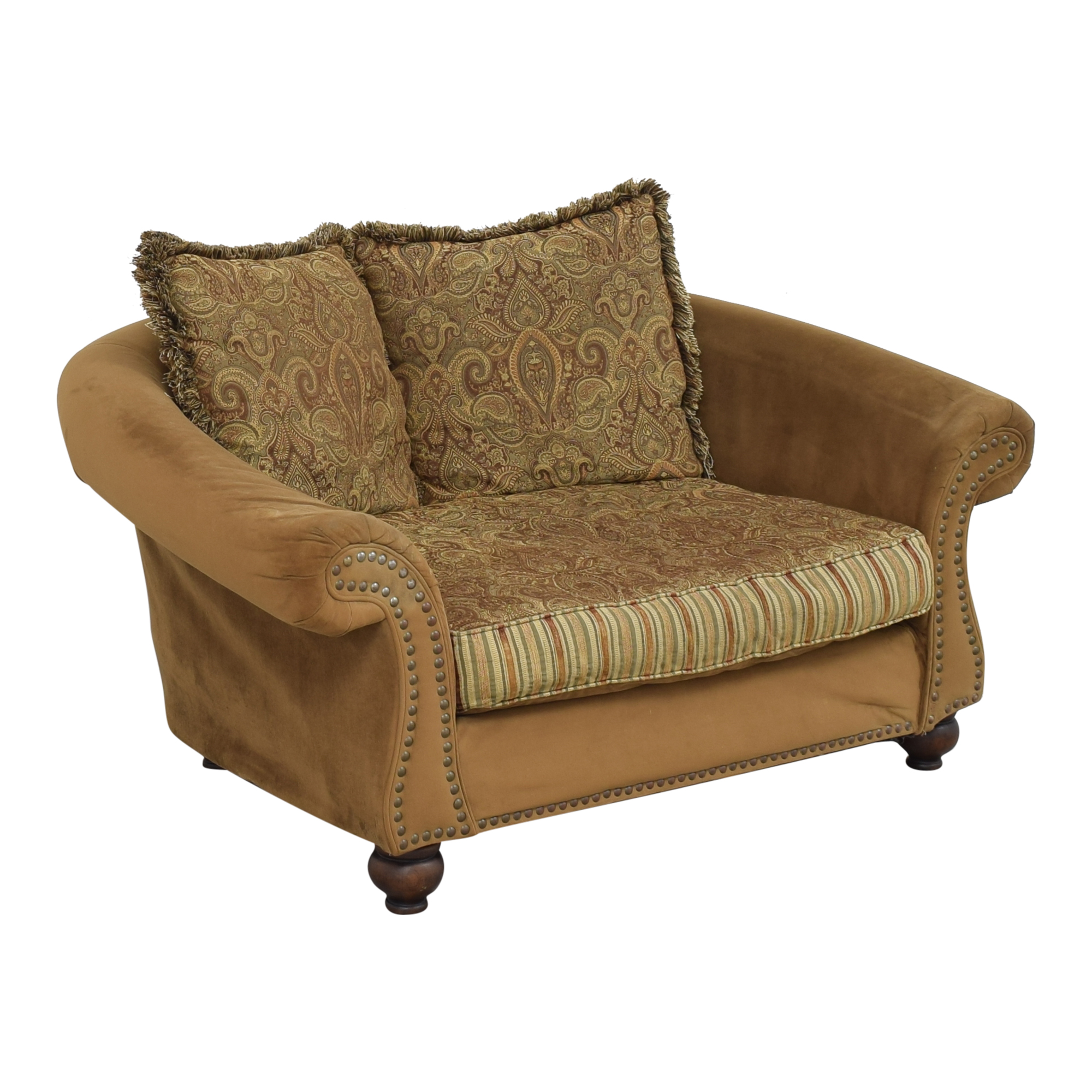 Cindy Crawford Home Cindy Crawford Home Nailhead Loveseat second hand