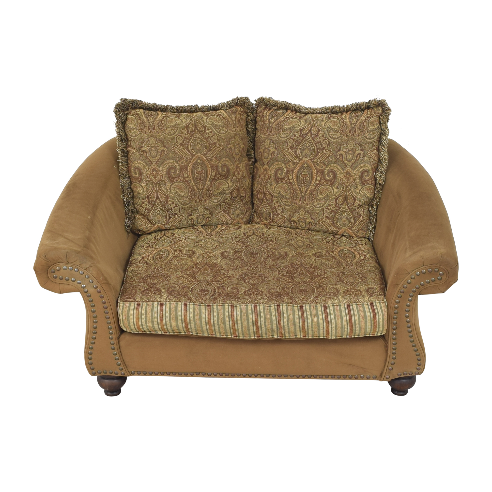 Cindy Crawford Home Cindy Crawford Home Nailhead Loveseat coupon