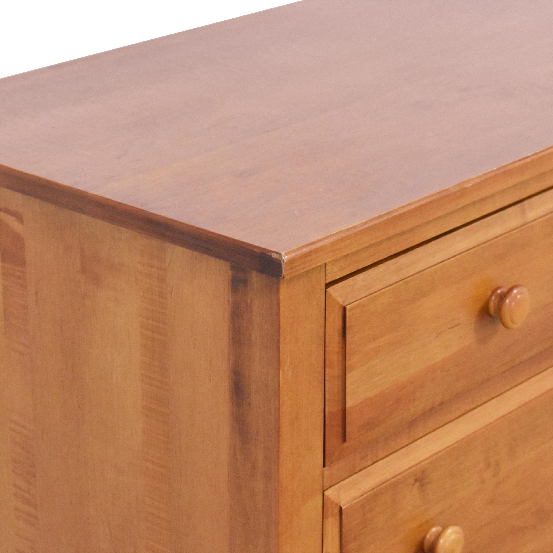 Ethan Allen Ethan Allen Country Colors Seven Drawer Dresser brown