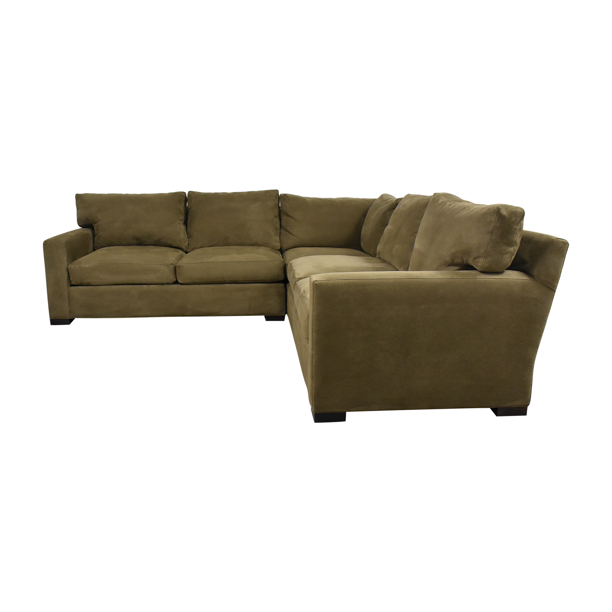 Crate & Barrel Crate & Barrel Corner Sectional Sofa used