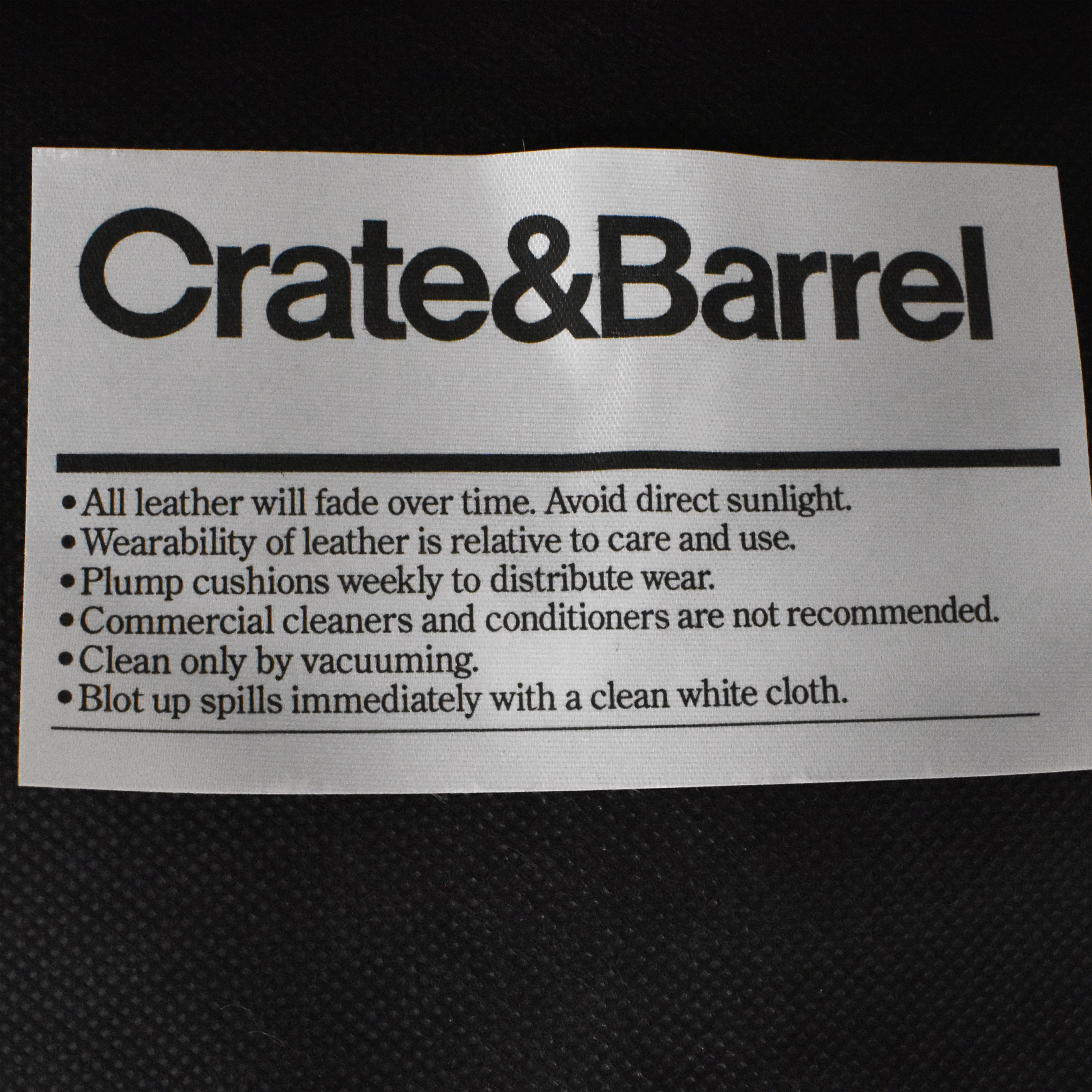 buy Crate & Barrel Crate & Barrel Square Tiered Ottoman online