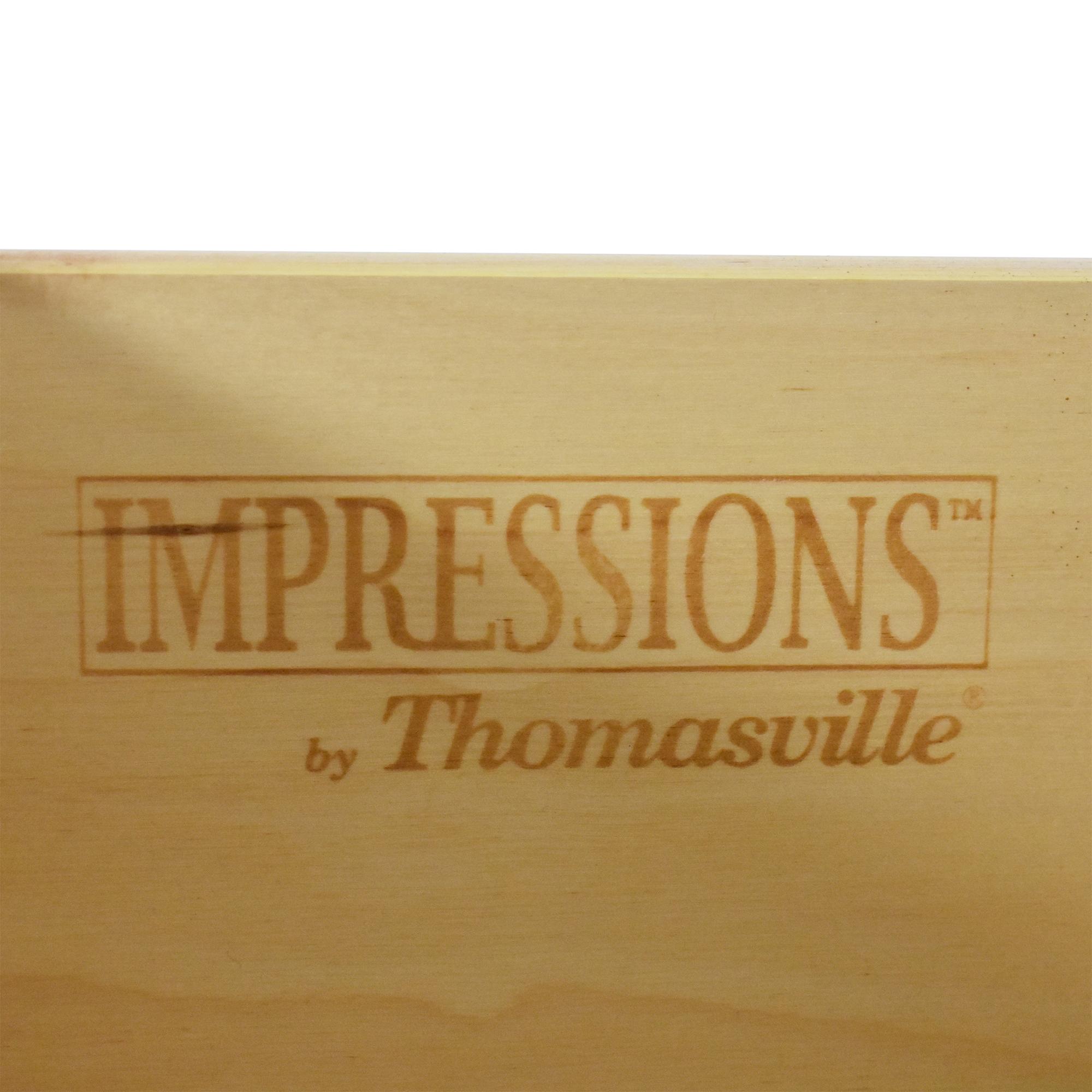 buy Thomasville Impressions Shaker Eight Drawer Dresser Thomasville Storage