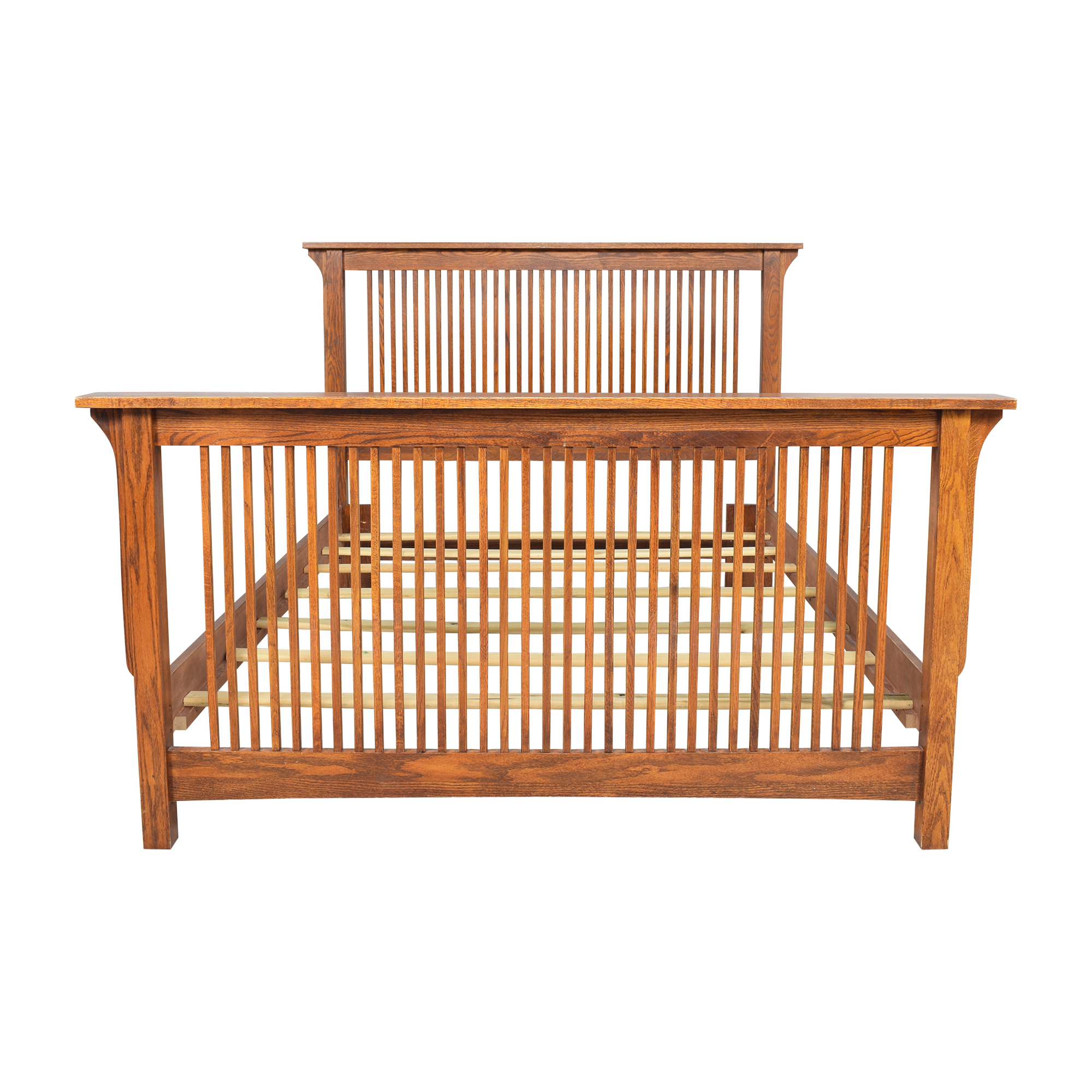 Mission-Style Queen Bed Bed Frames