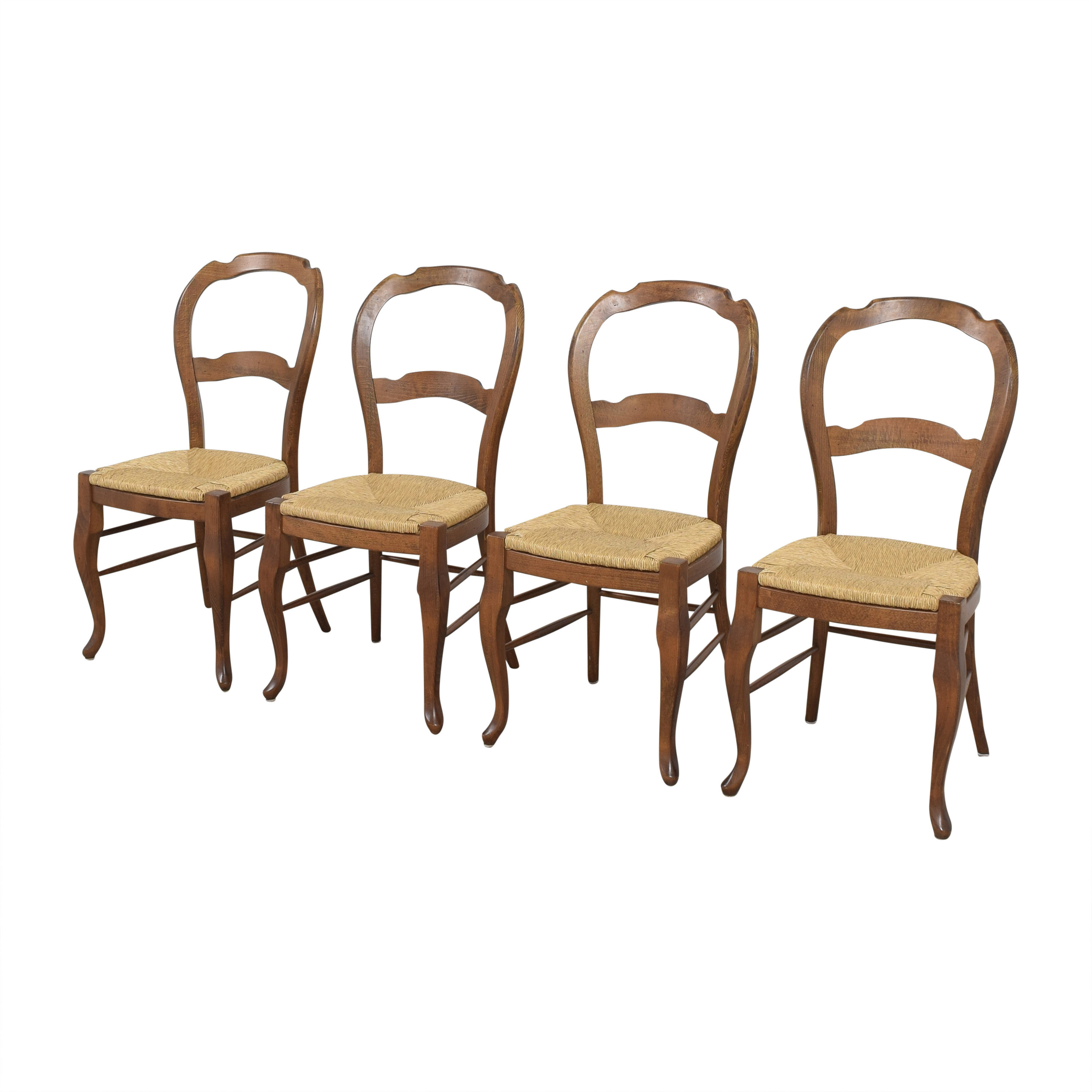 buy Pottery Barn Pottery Barn Woven Seat Dining Chairs online