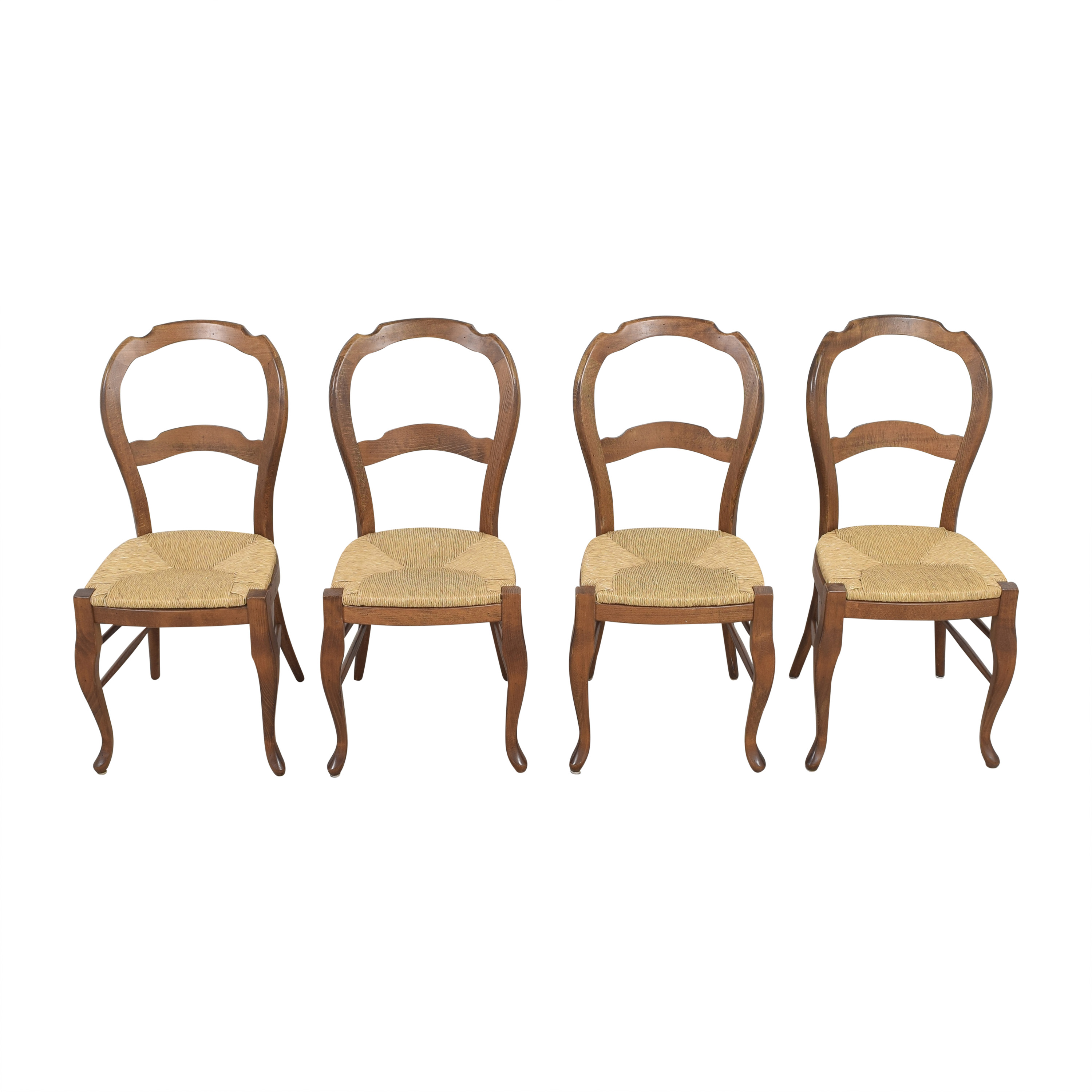 Pottery Barn Pottery Barn Woven Seat Dining Chairs