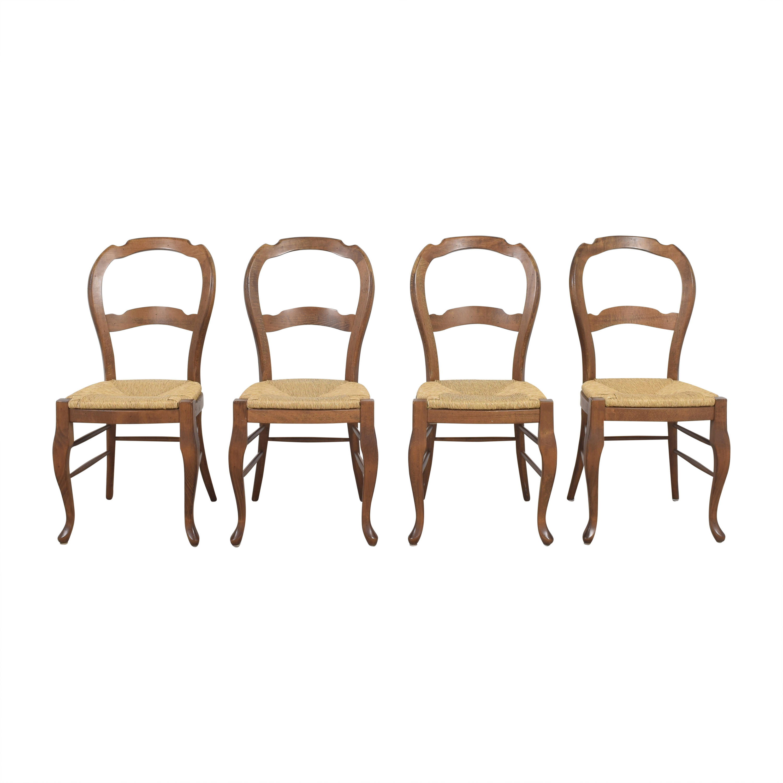 shop Pottery Barn Woven Seat Dining Chairs Pottery Barn Dining Chairs