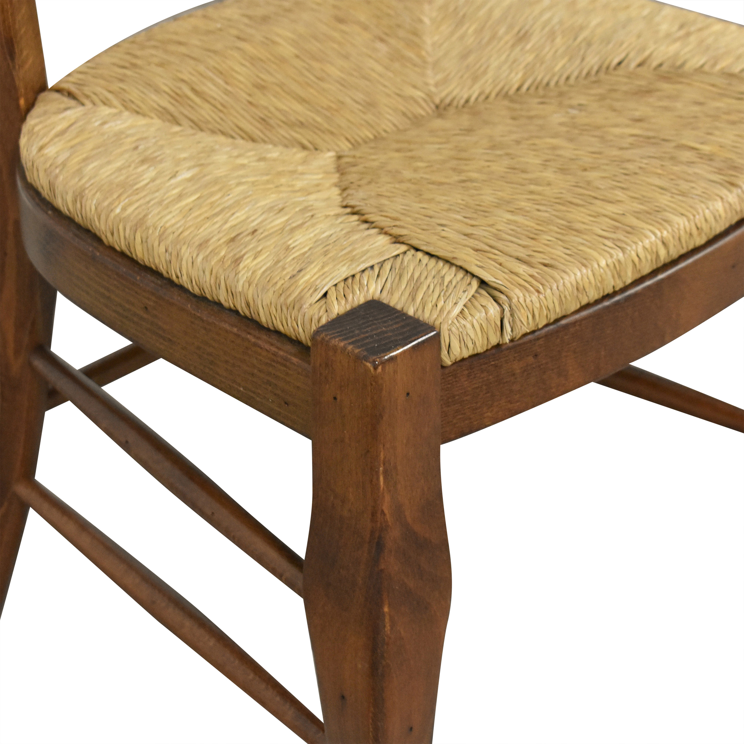buy Pottery Barn Woven Seat Dining Chairs Pottery Barn Chairs
