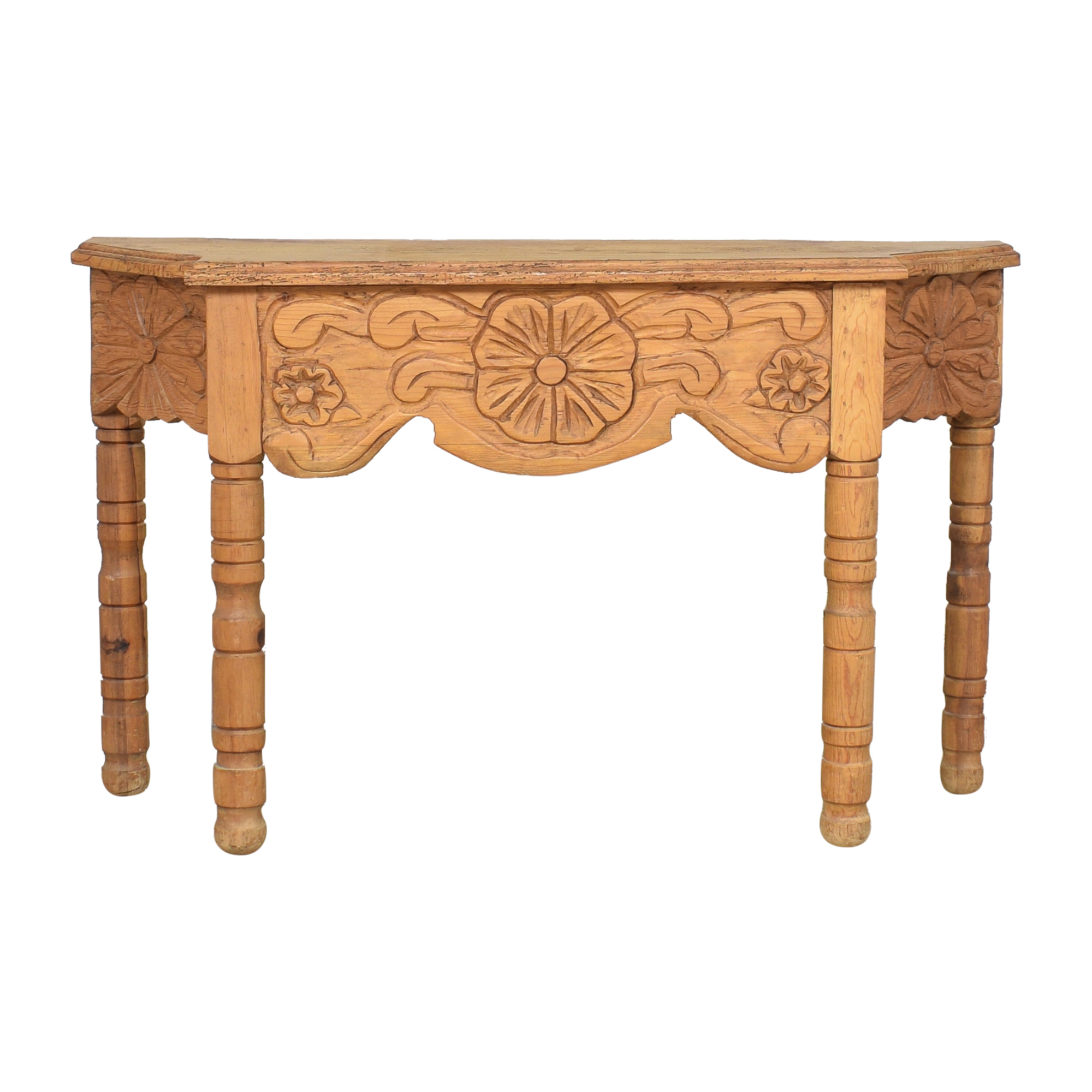 shop Carved Console Table