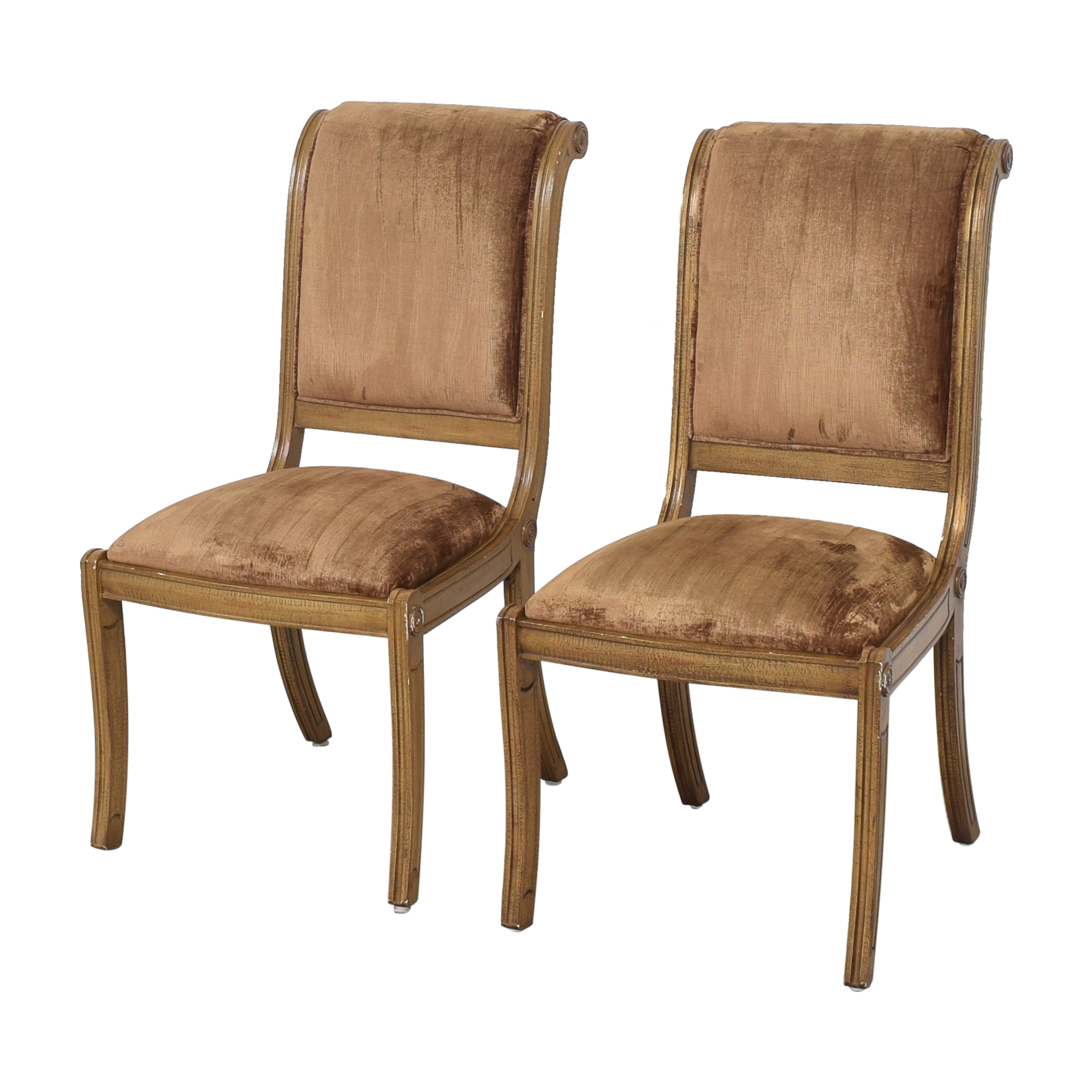Robert Allen Robert Allen Rodeo Side Dining Chairs dimensions