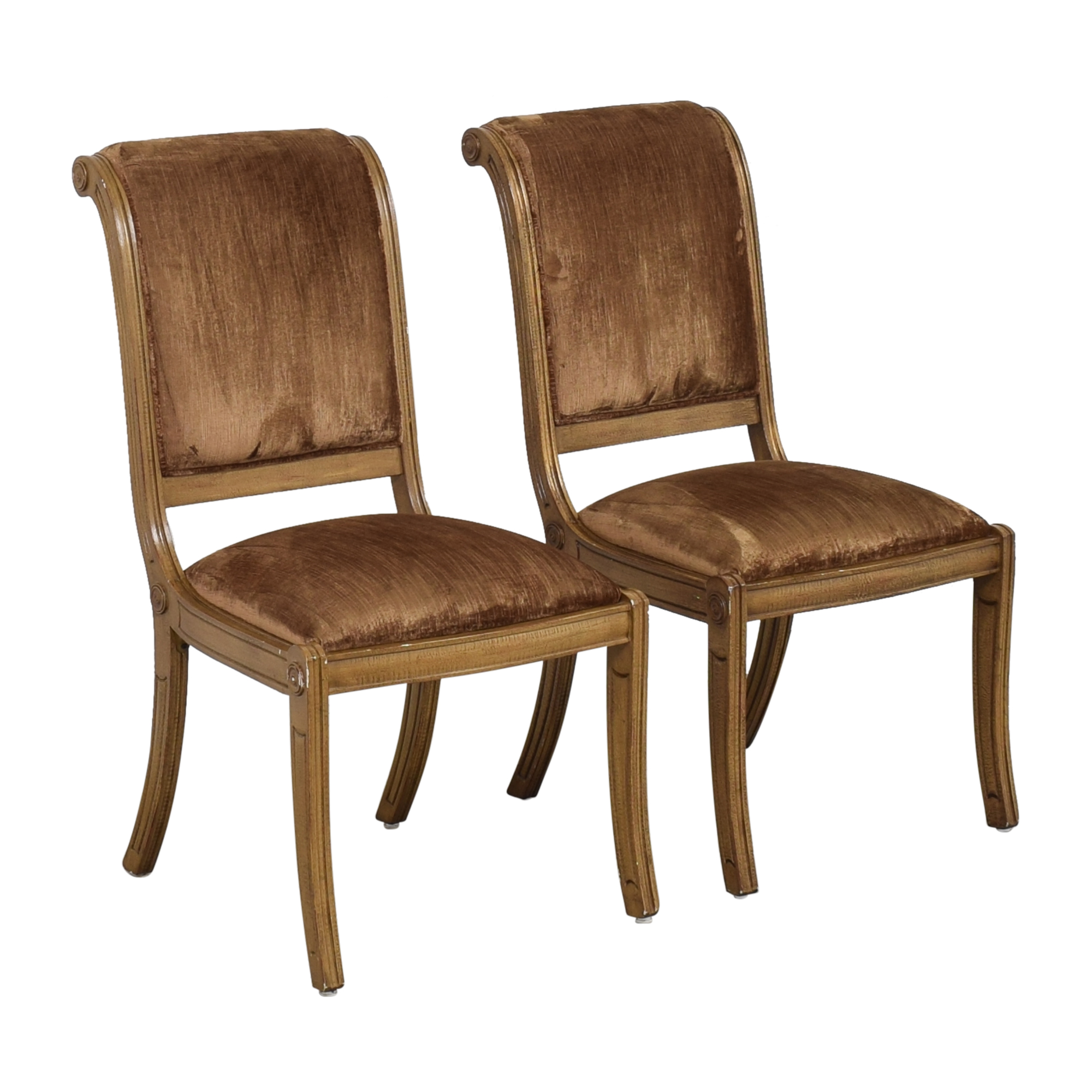 Robert Allen Rodeo Side Dining Chairs / Dining Chairs