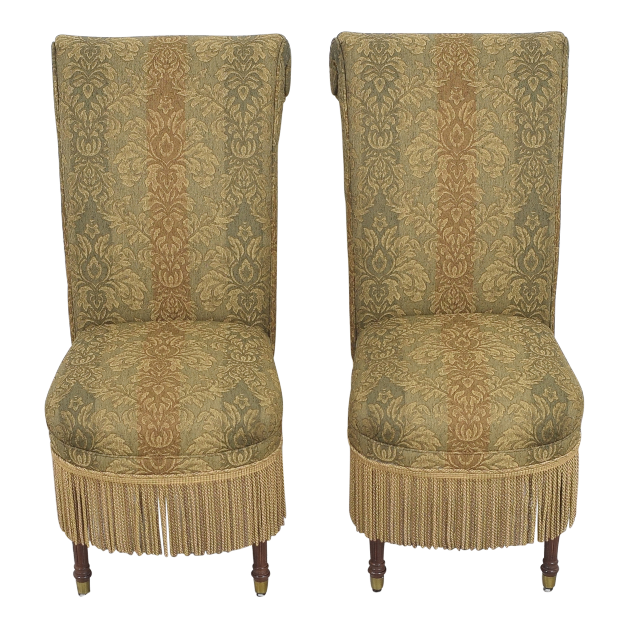 Designmaster Furniture Designmaster Furniture Tasseled Dining Chairs