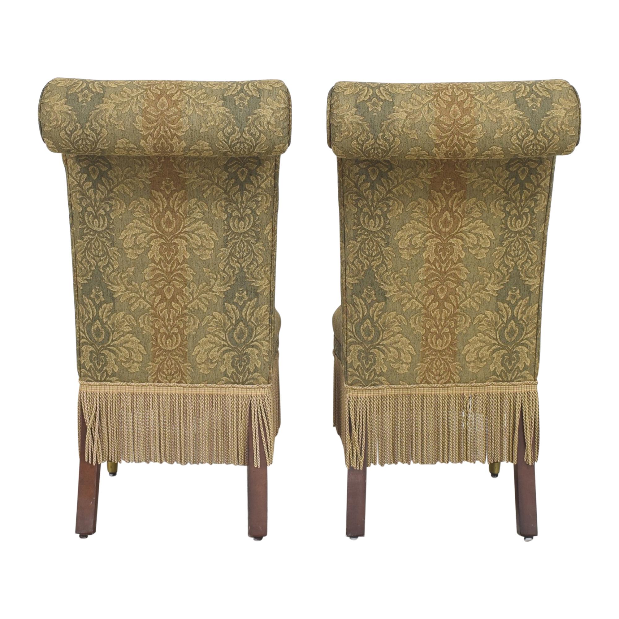 buy Designmaster Furniture Tasseled Dining Chairs Designmaster Furniture