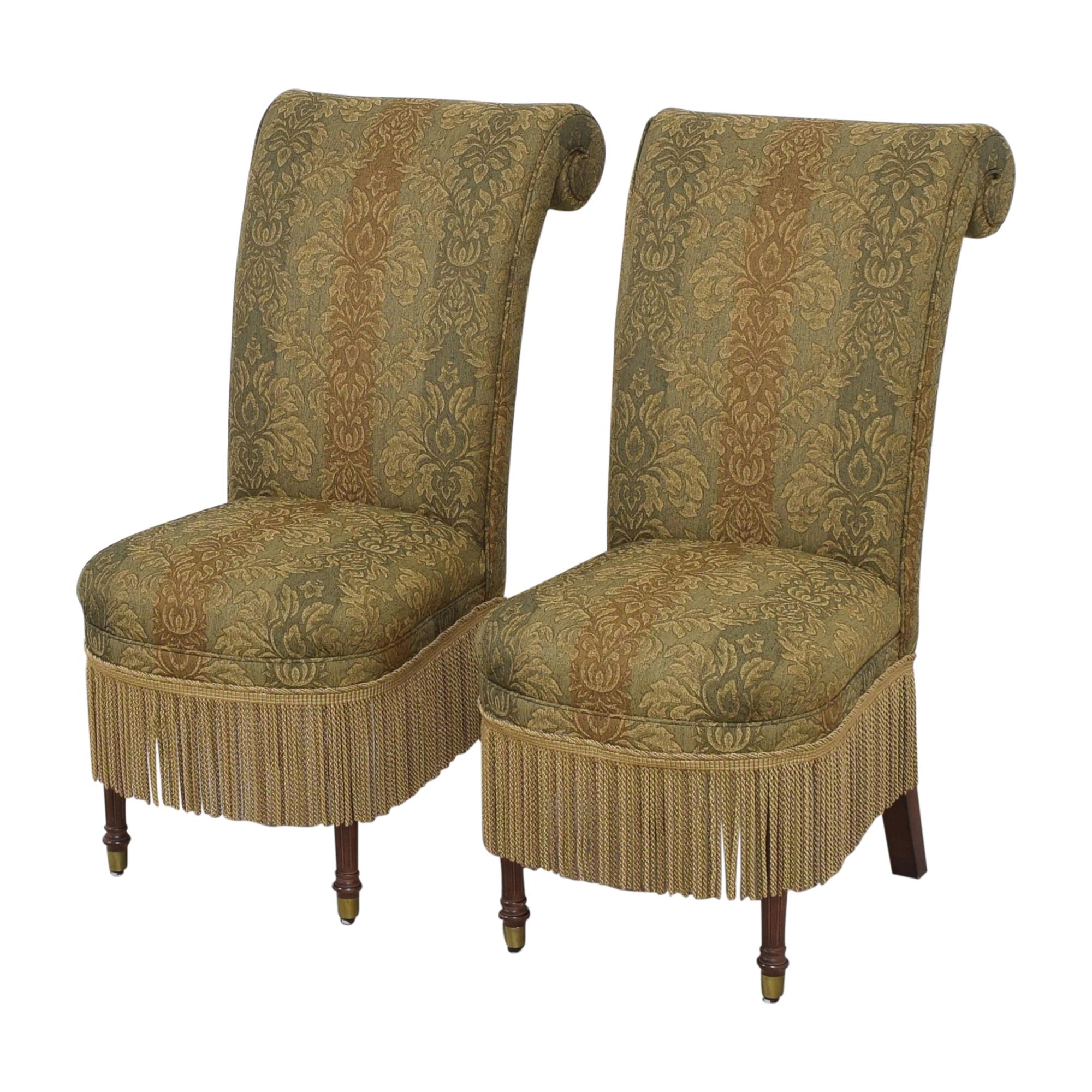 shop Designmaster Furniture Designmaster Furniture Tasseled Dining Chairs online