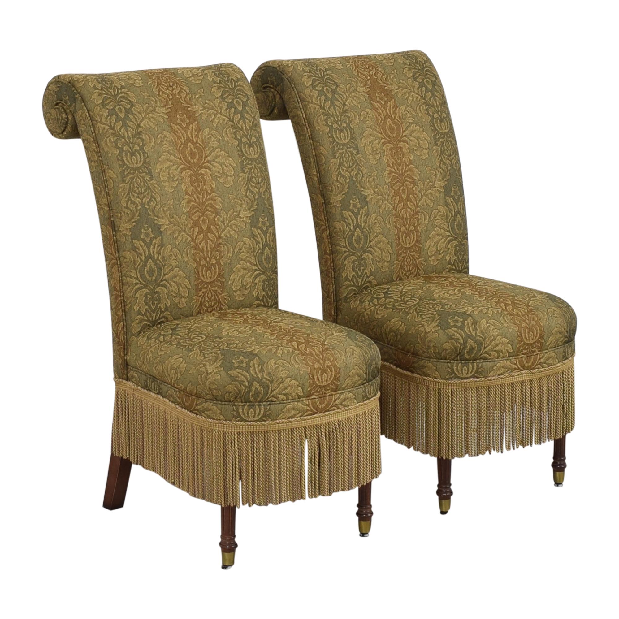 shop Designmaster Furniture Tasseled Dining Chairs Designmaster Furniture Dining Chairs