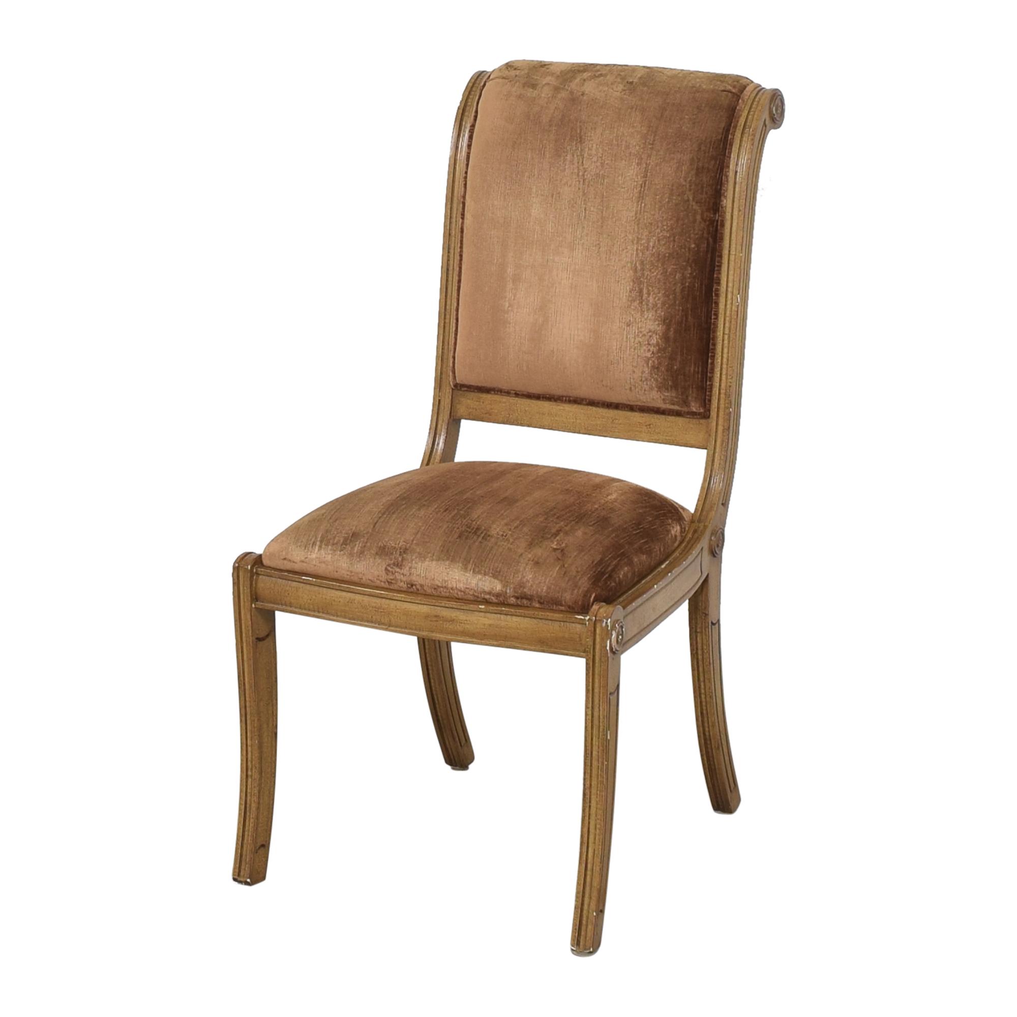 Robert Allen Robert Allen Rodeo Side Dining Chairs dimensions
