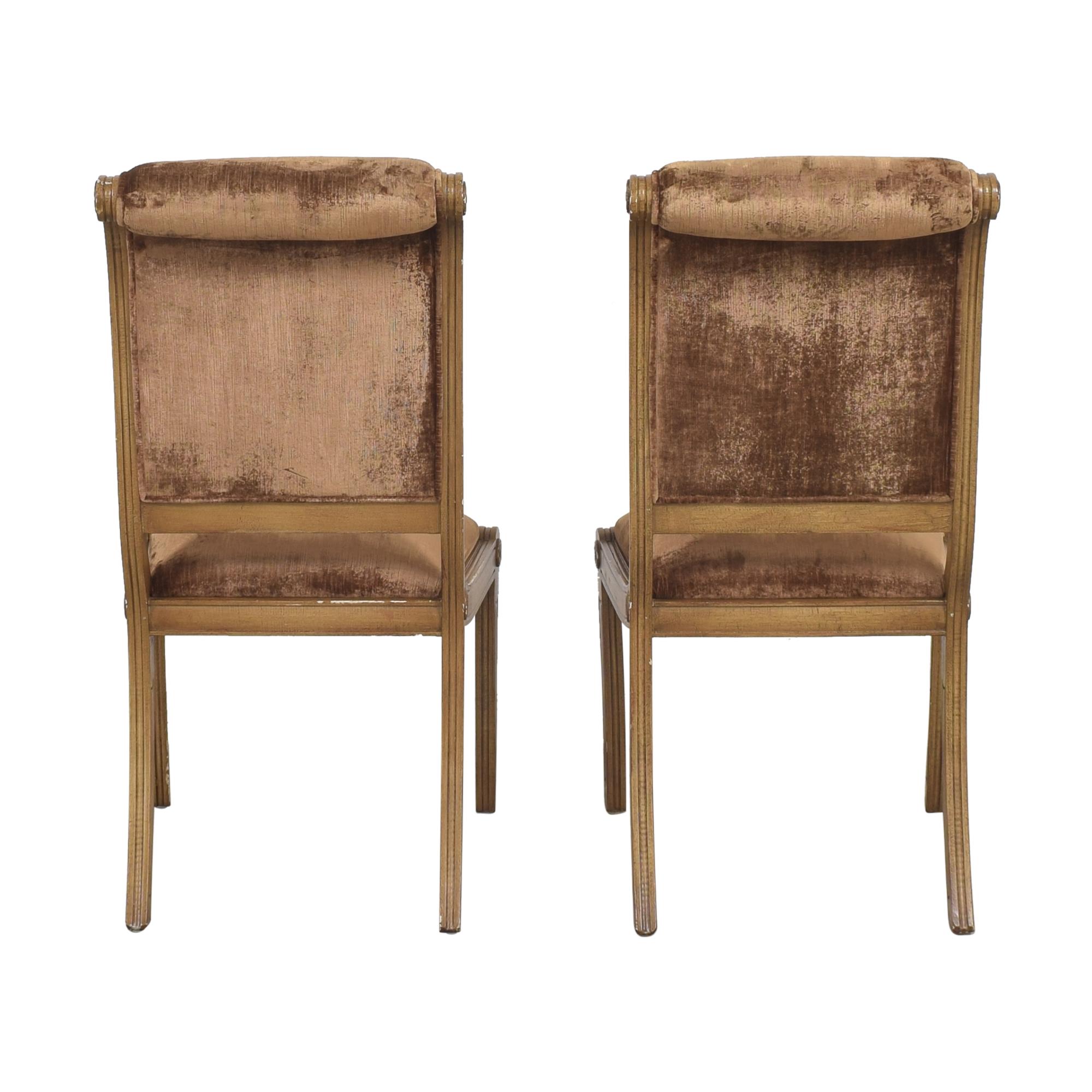 Robert Allen Robert Allen Rodeo Side Dining Chairs on sale