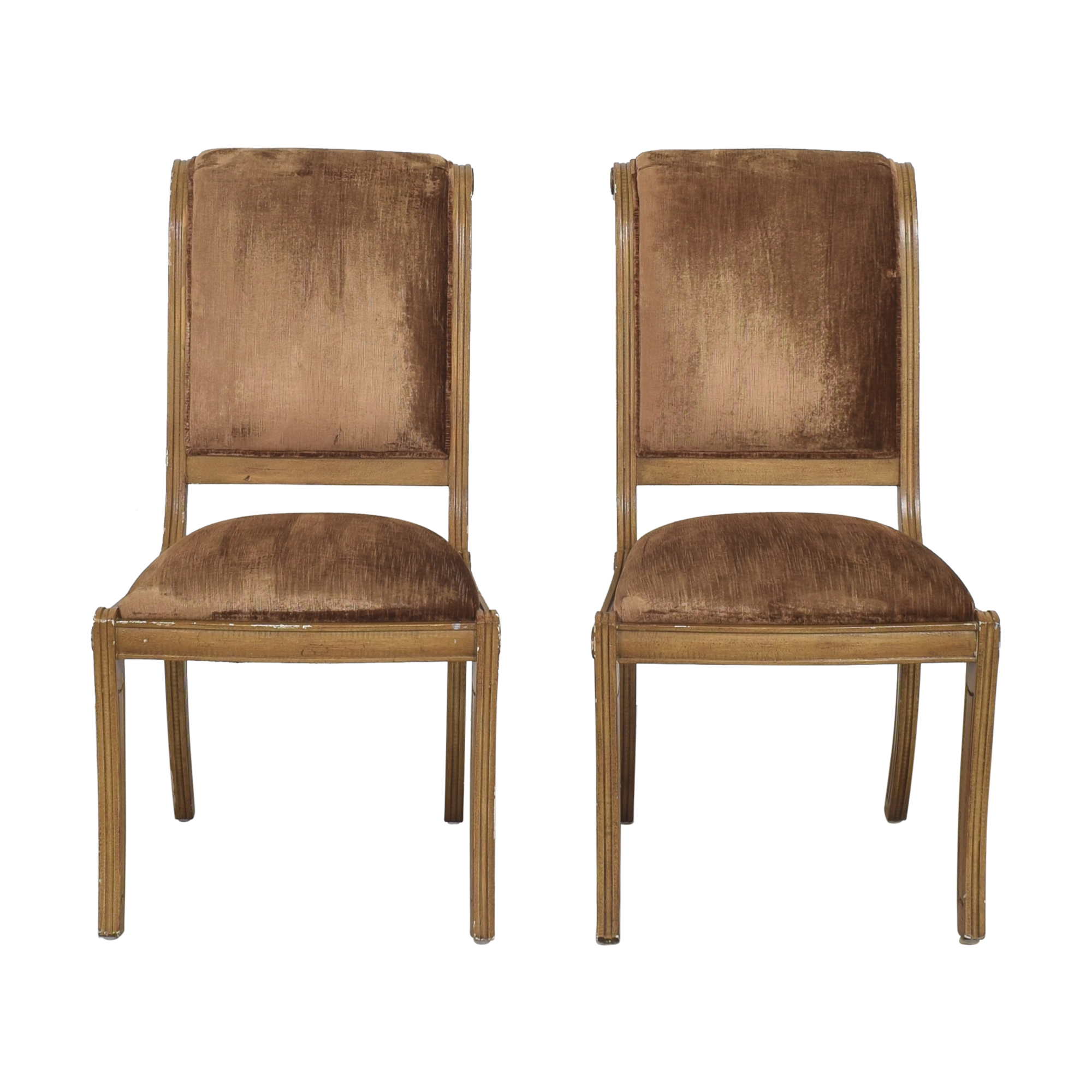Robert Allen Robert Allen Rodeo Side Dining Chairs brown