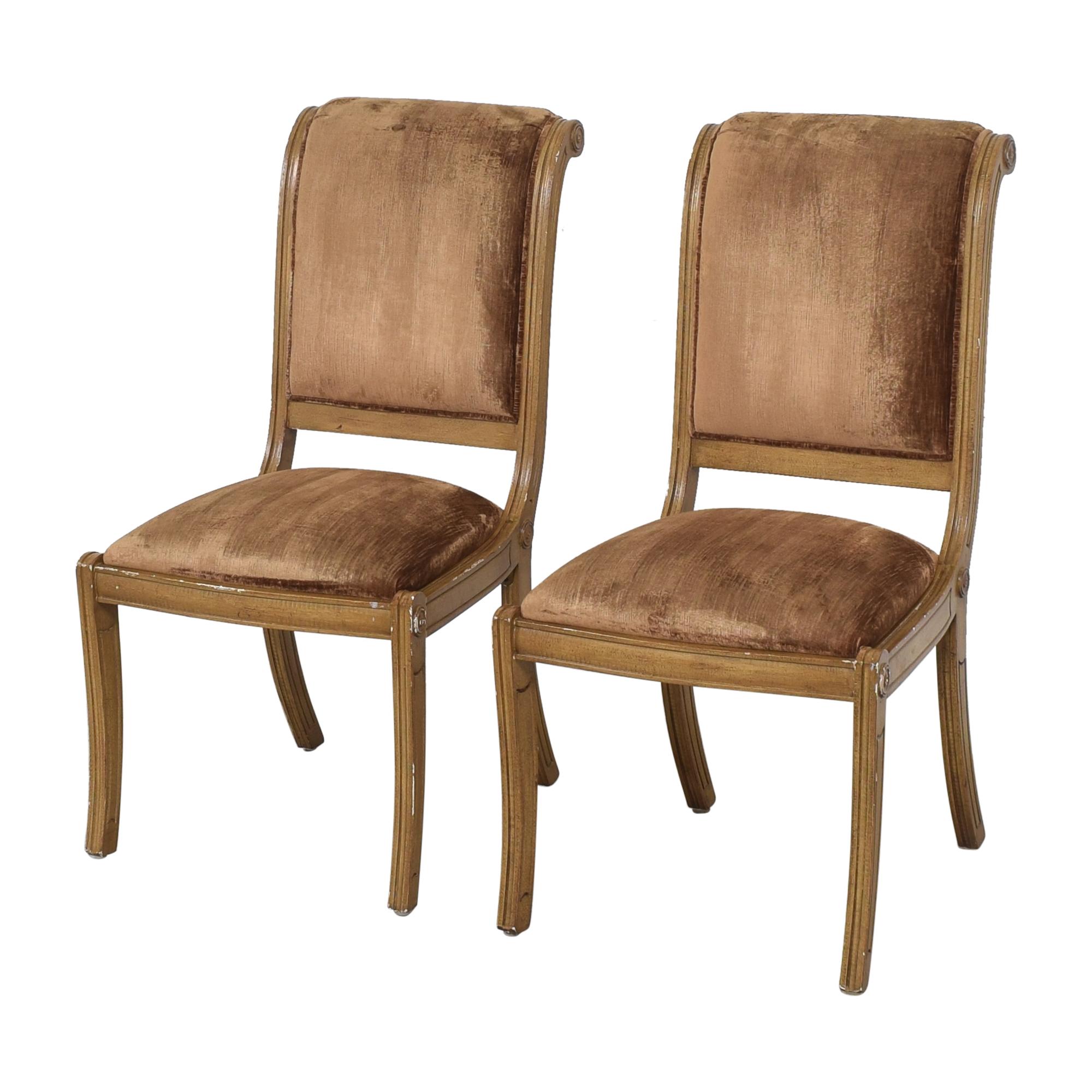 Robert Allen Robert Allen Rodeo Side Dining Chairs brown