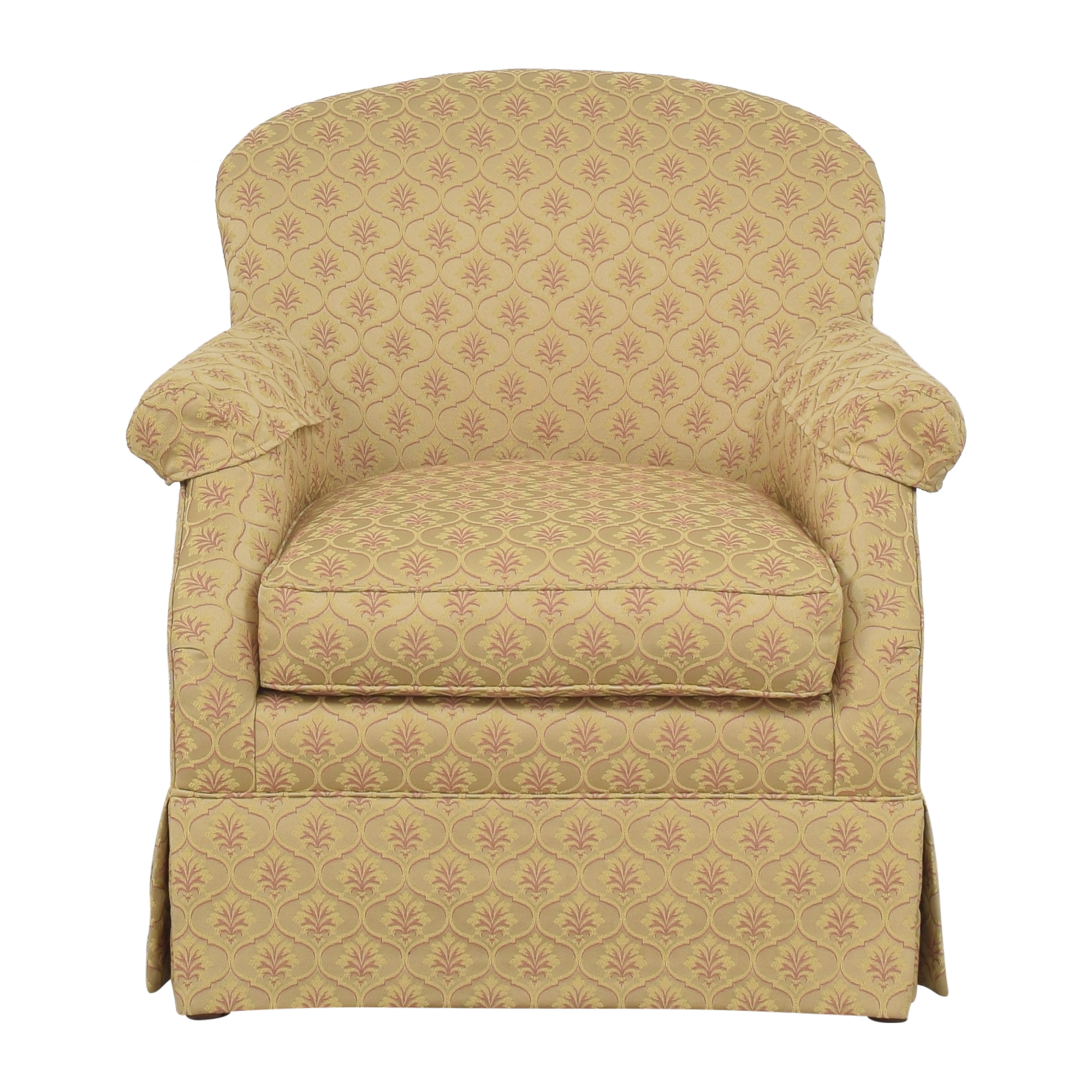 CR Laine Skirted Accent Chair sale