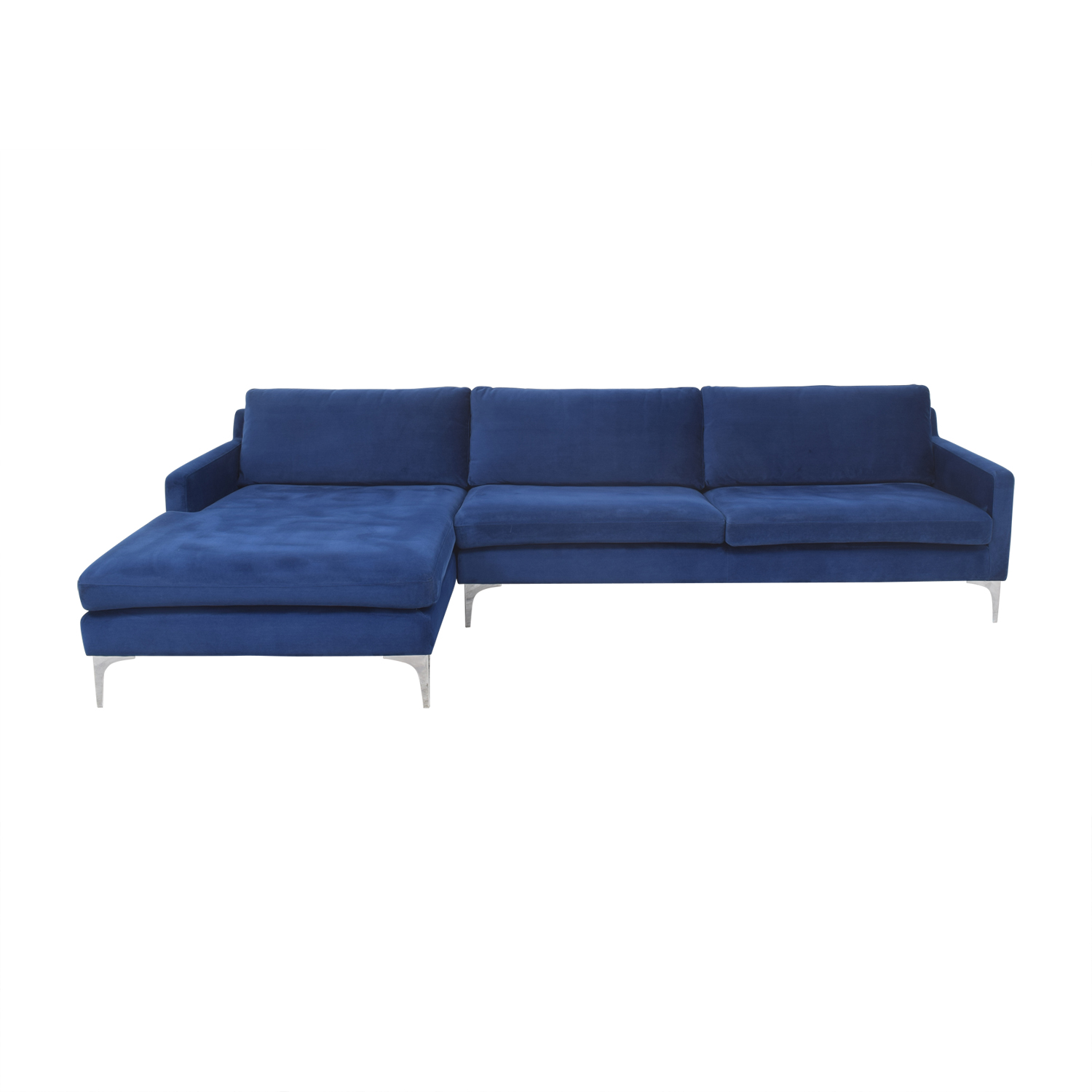 Joss & Main Joss & Main Bridgehampton Chaise Sectional Sofa Sectionals