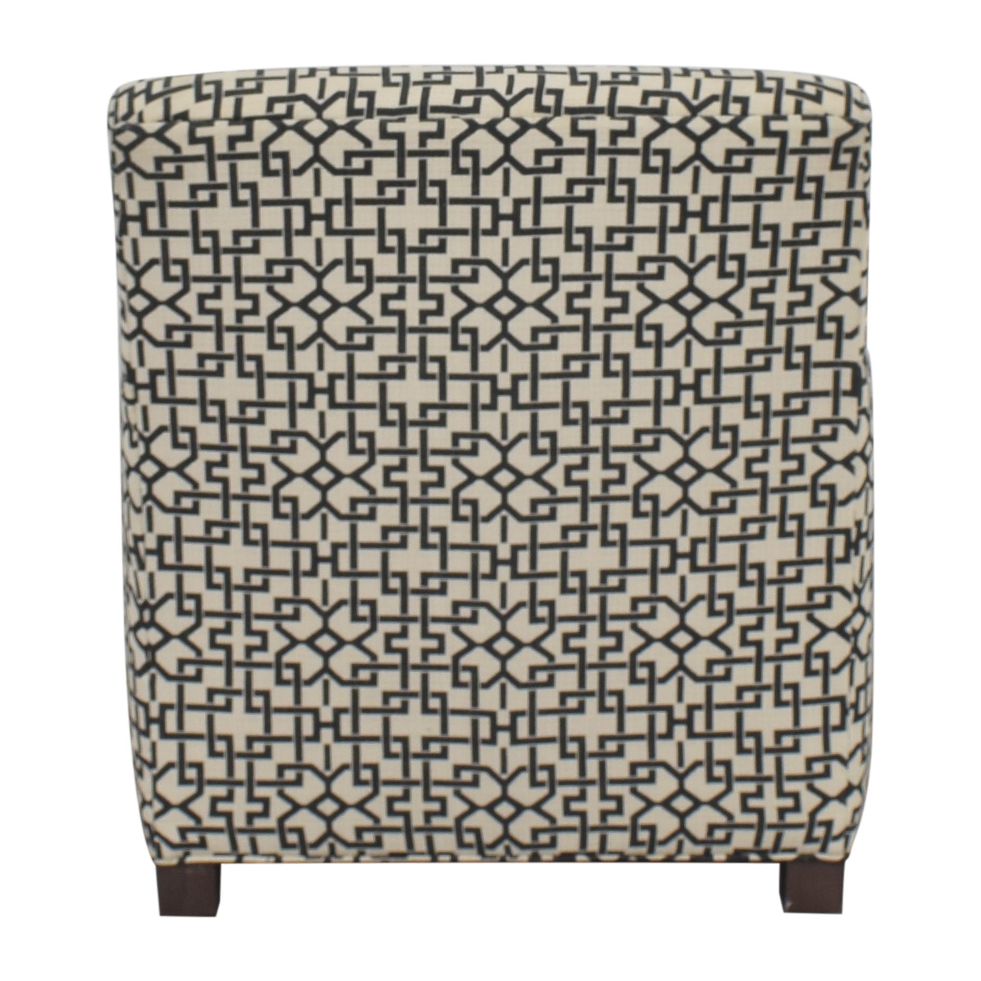 Crate & Barrel Crate & Barrel Geometric Club Chair Accent Chairs