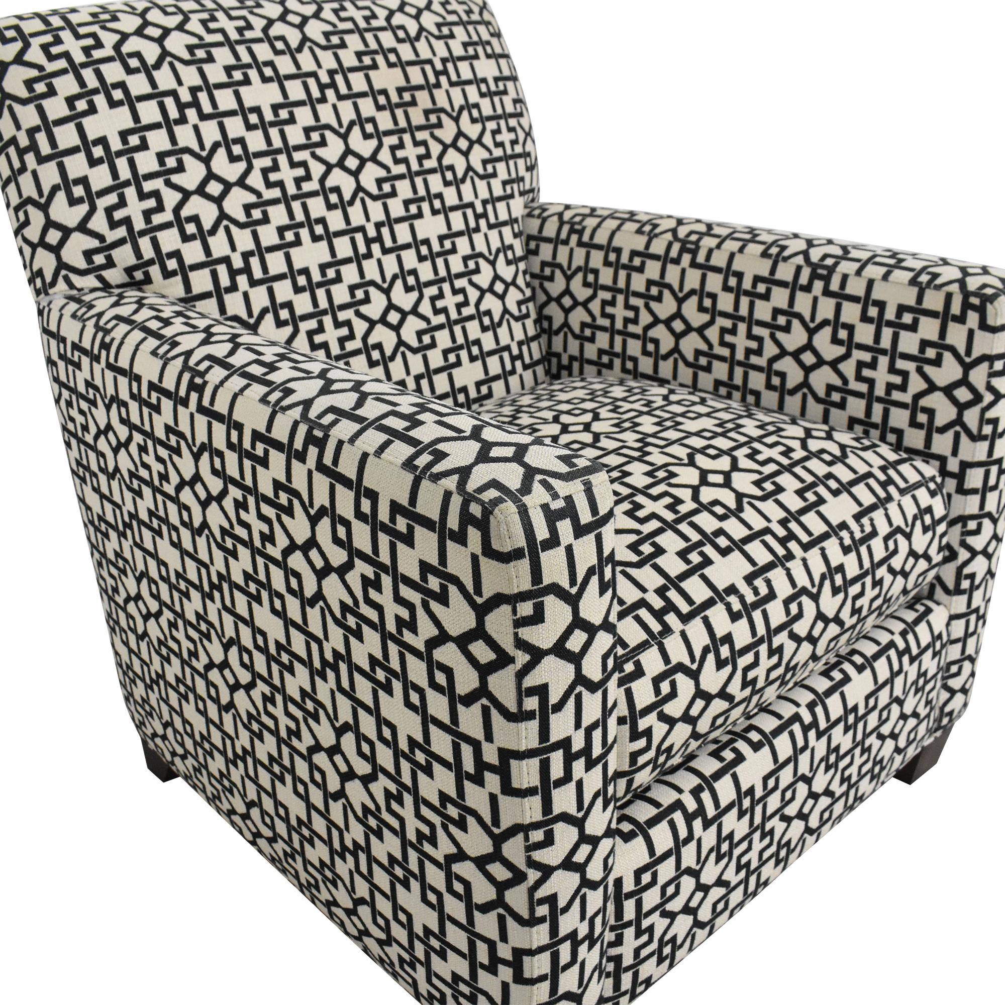 Crate & Barrel Crate & Barrel Geometric Club Chair discount