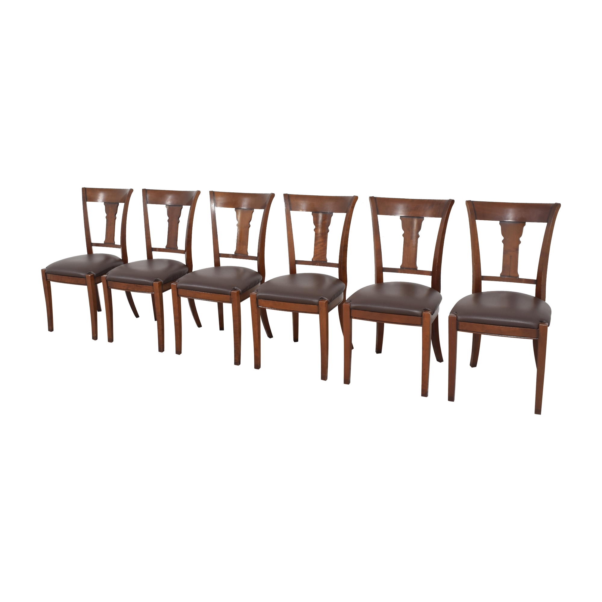 Grange Grange Rochambeau Dining Chairs brown & black