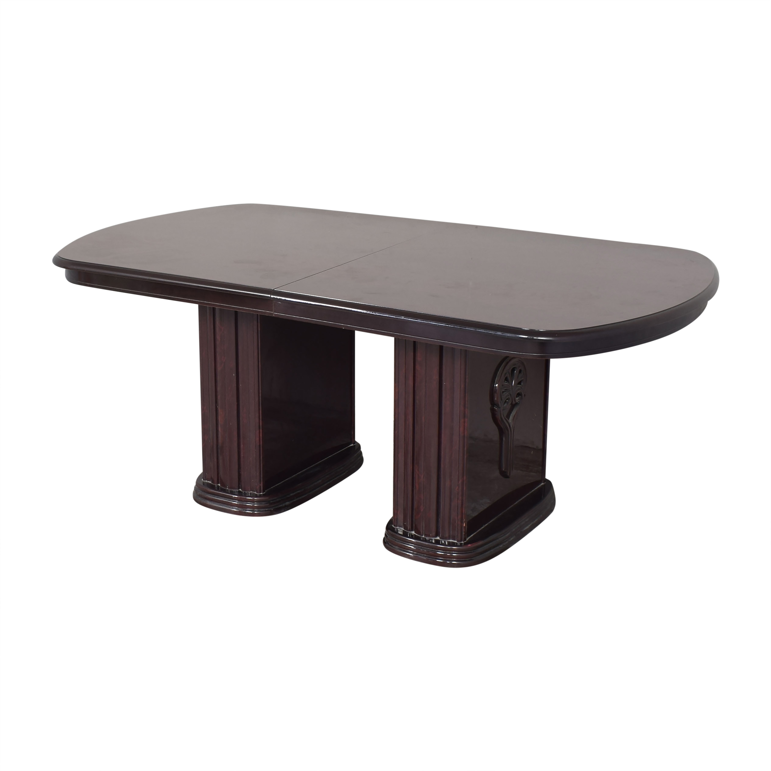 Double Column Base Dining Table coupon