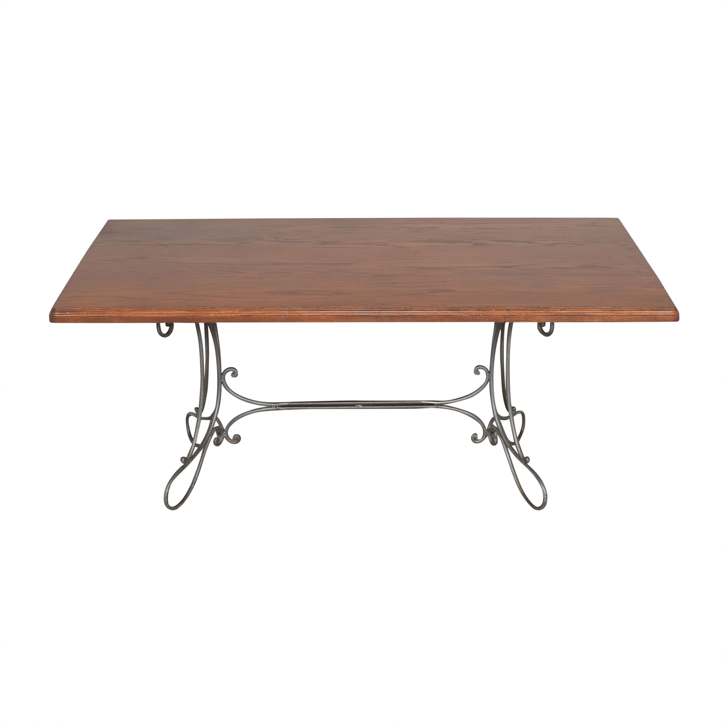 Custom Dining Table with Antique Openwork Base coupon