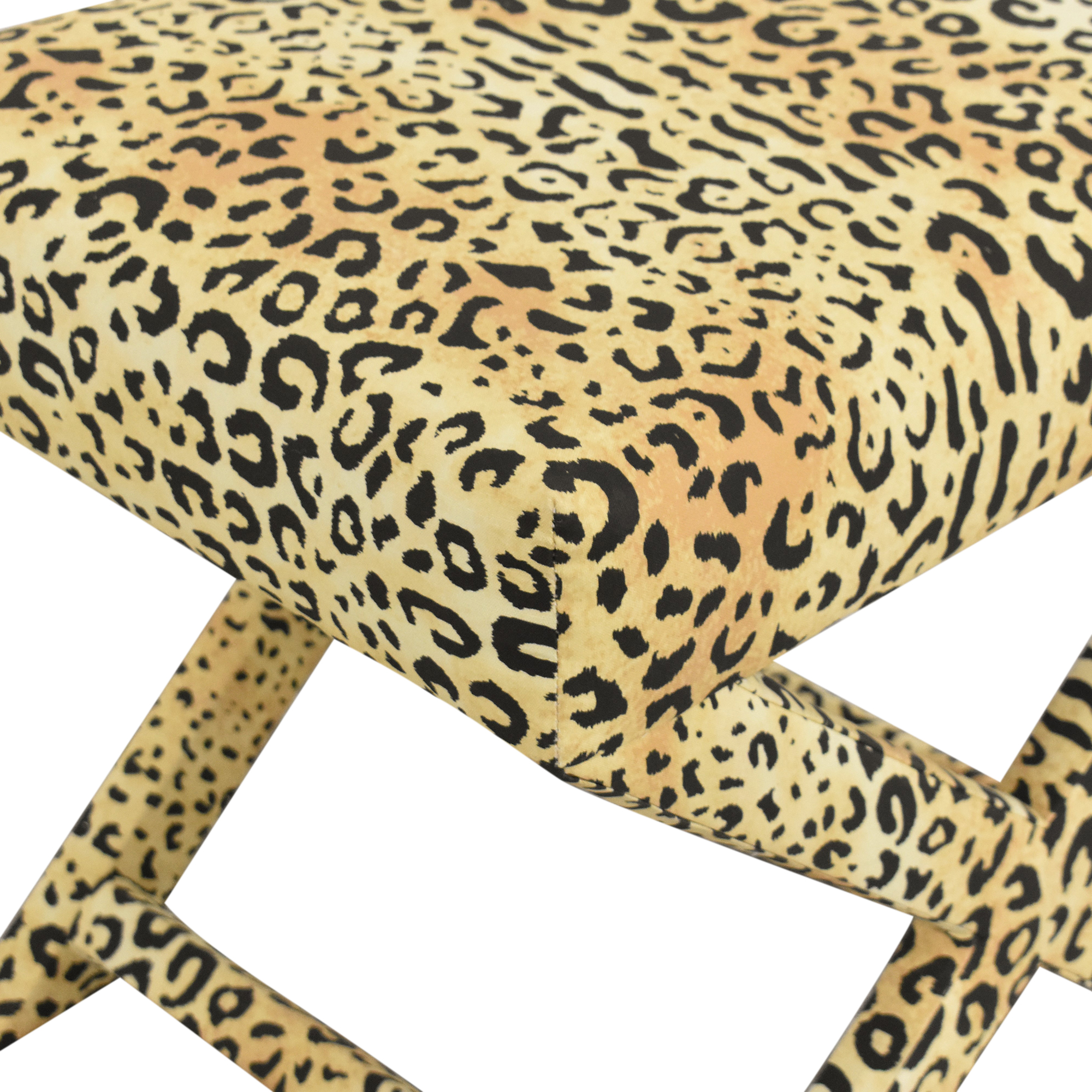 The Inside The Inside Leopard X Bench